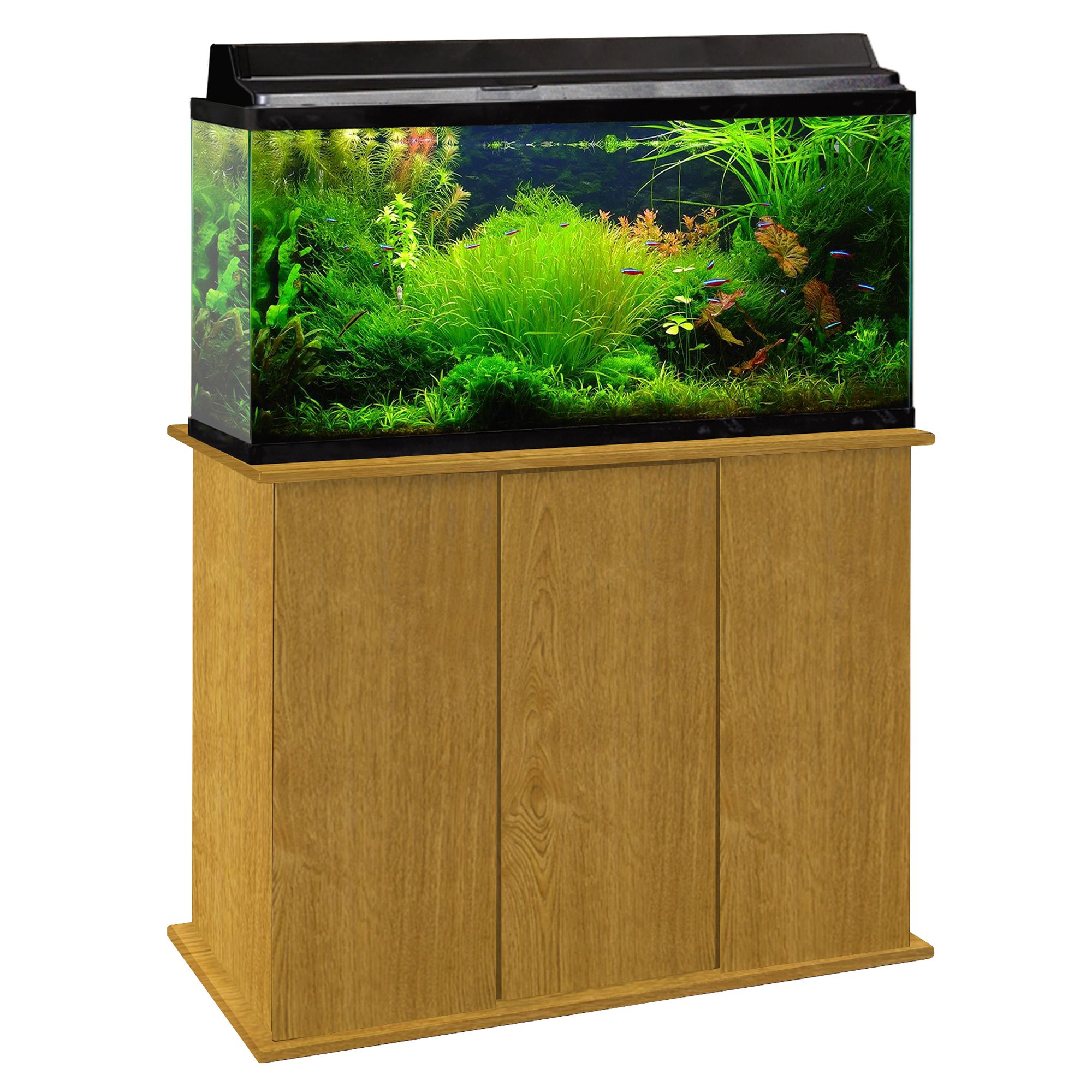 Marco 50 65 Gallon Upright Aquarium Stand Brown