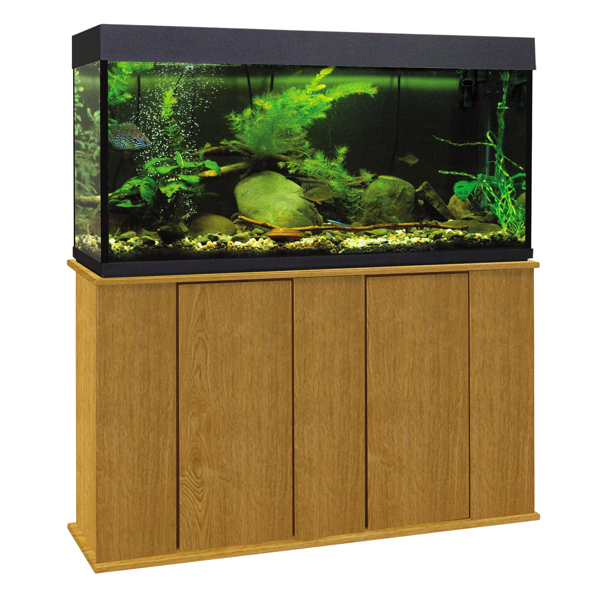 Marco 30 45 gallon upright aquarium stand brown for 38 gallon fish tank