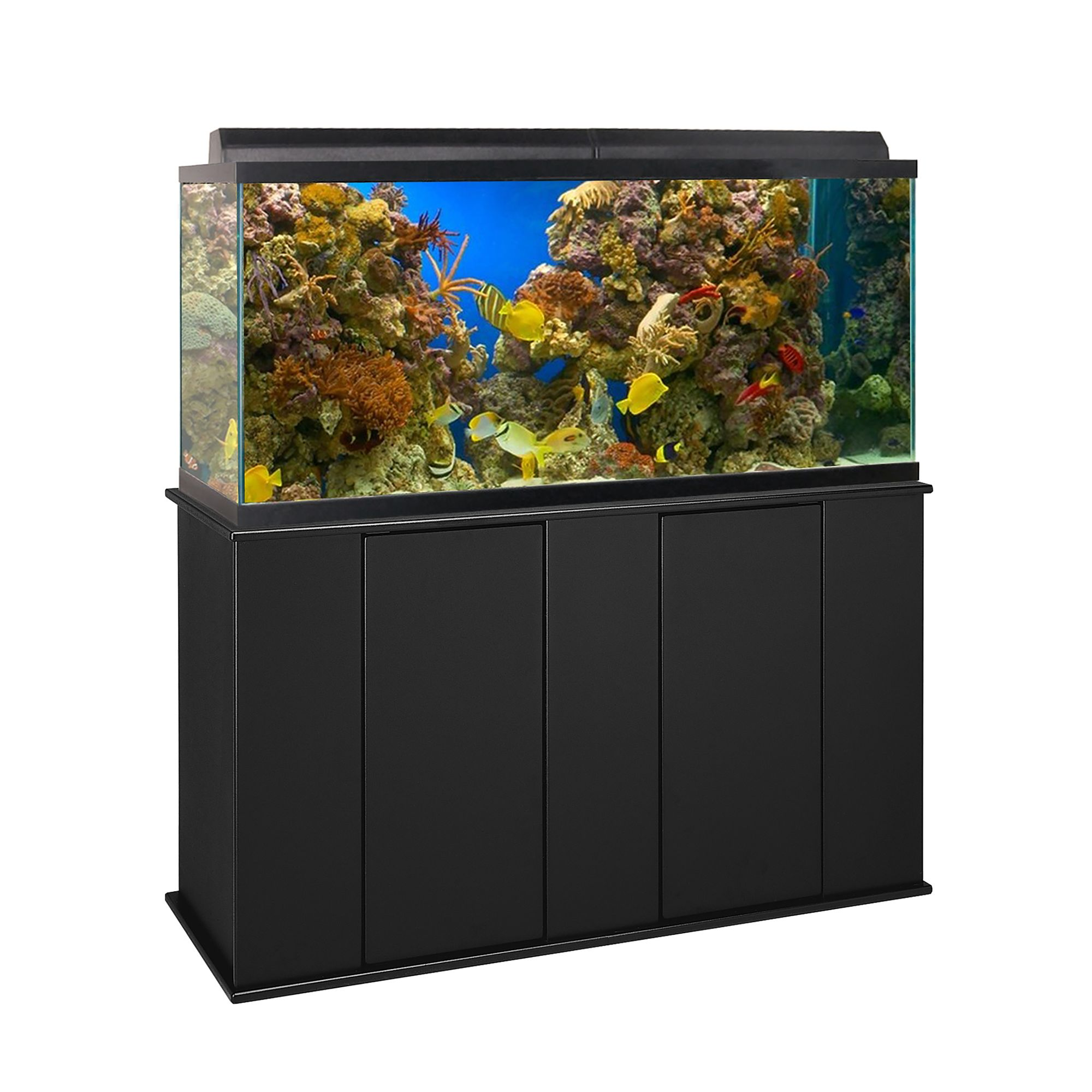 Marco 75-90 Gallon Upright Aquarium Stand, Black 5245771