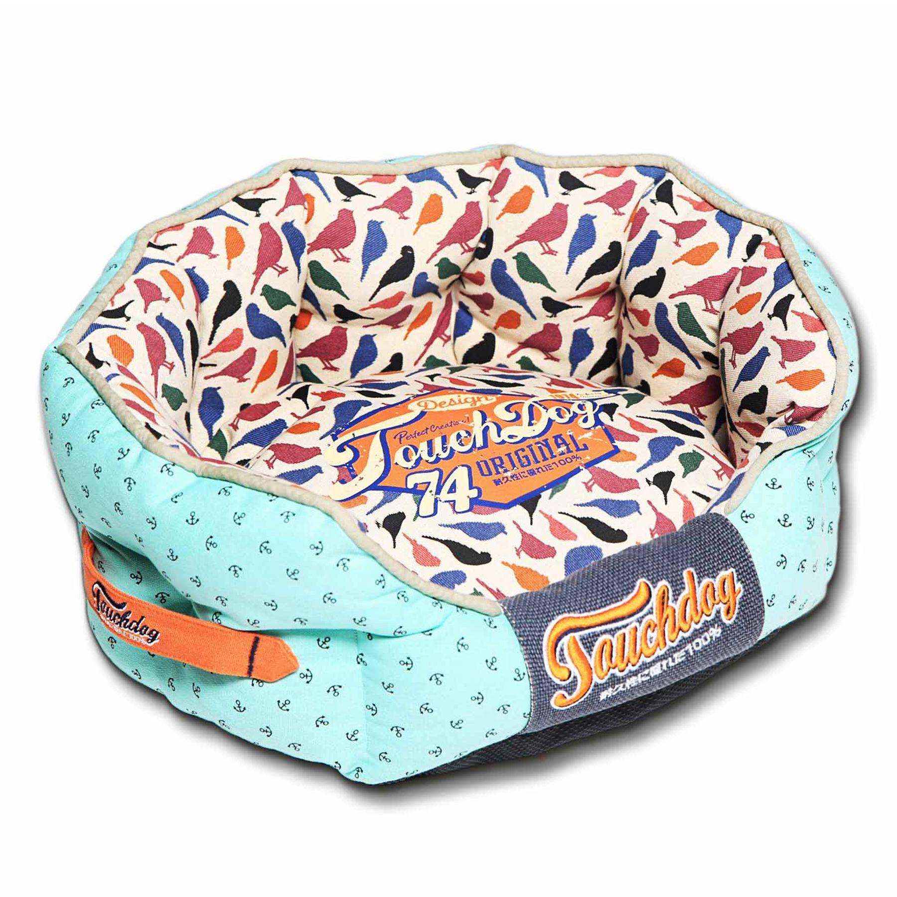"""Pet Life Touchdog Bird Cuddler Dog Bed size: 21.7""""L x 19.4""""W"""