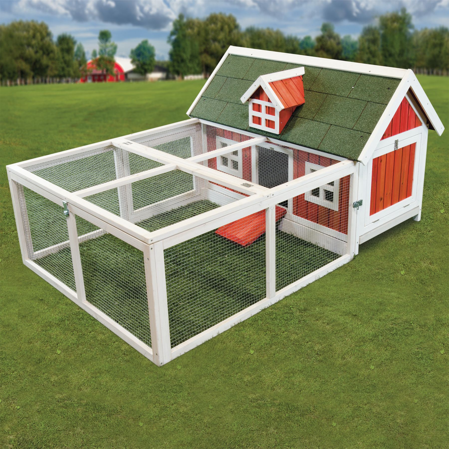 Ware Little Red Hen Barn Size One Size