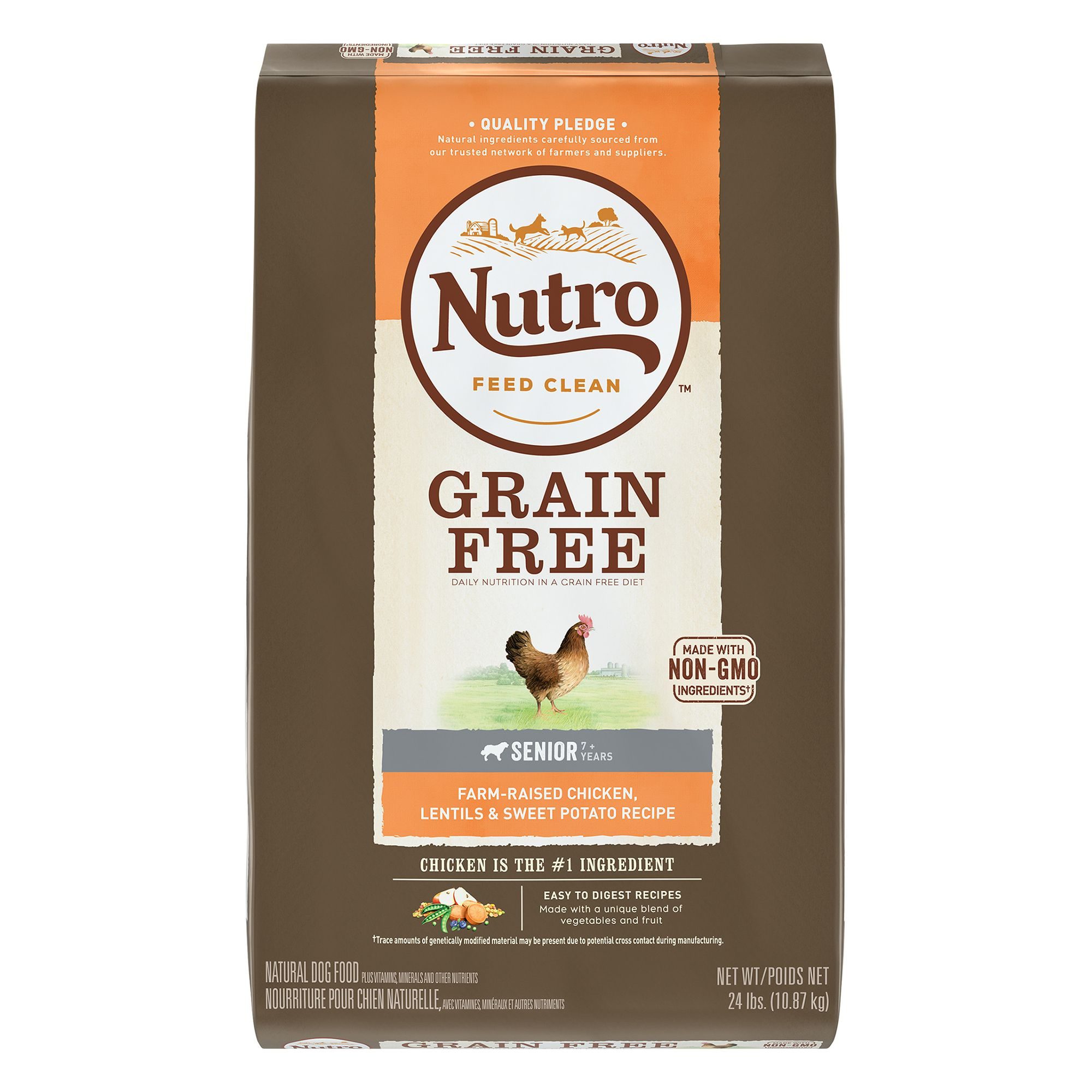 Nutro Grain Free Senior Dog Food