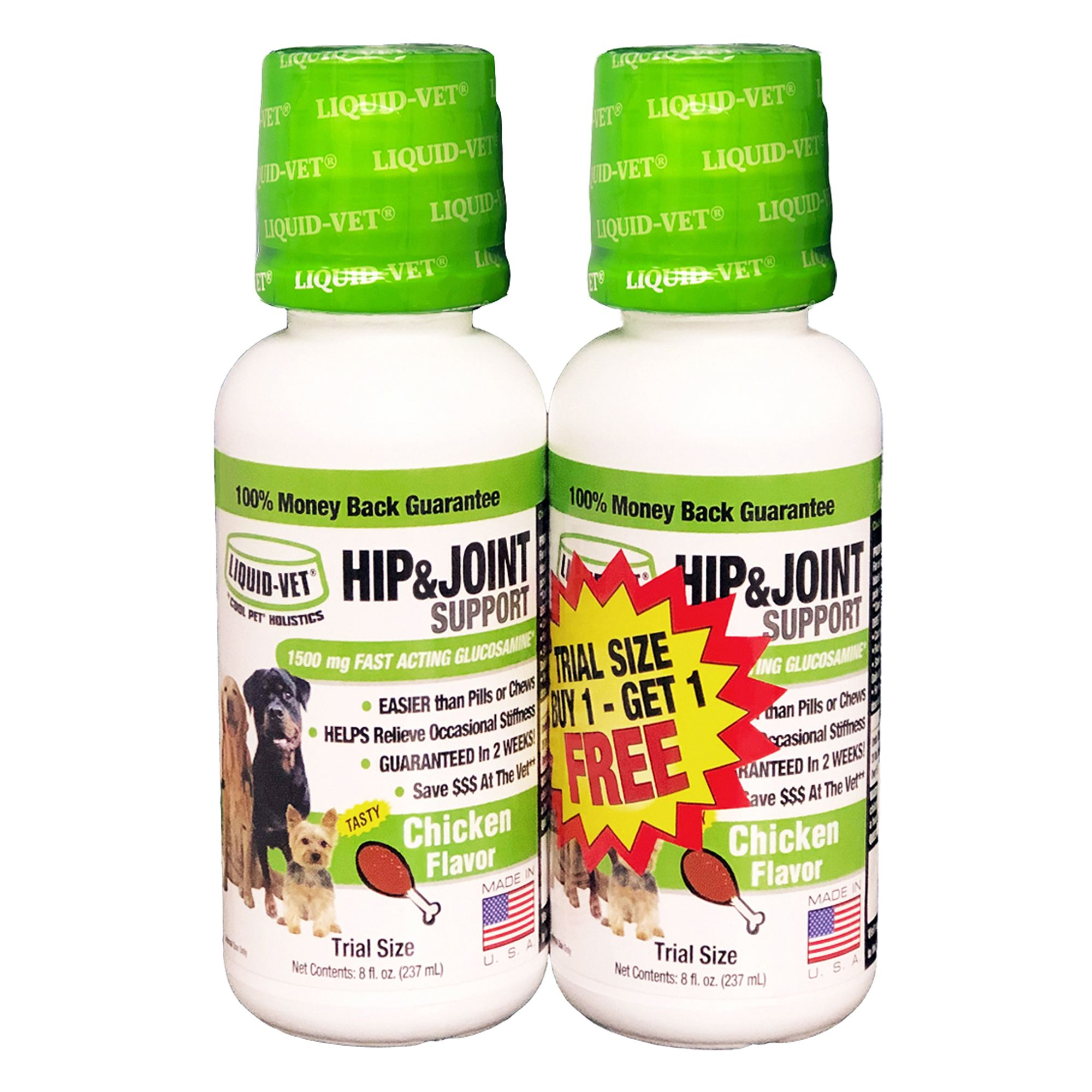 Cool Pet Holistics Liquid Vet Joint Formula Size 8 Fl Oz