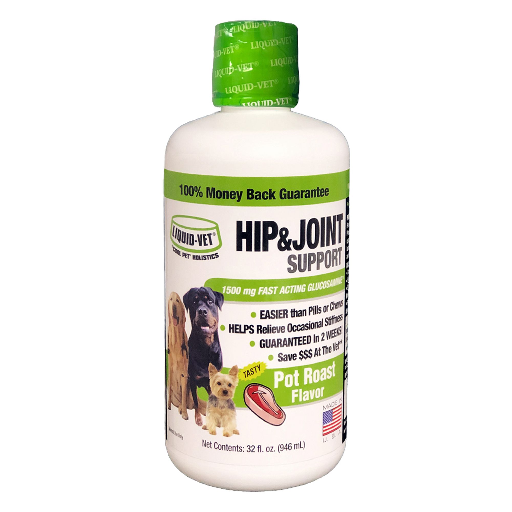 Cool Pet Holistics Liquid Vet Joint Formula Size 32 Fl Oz