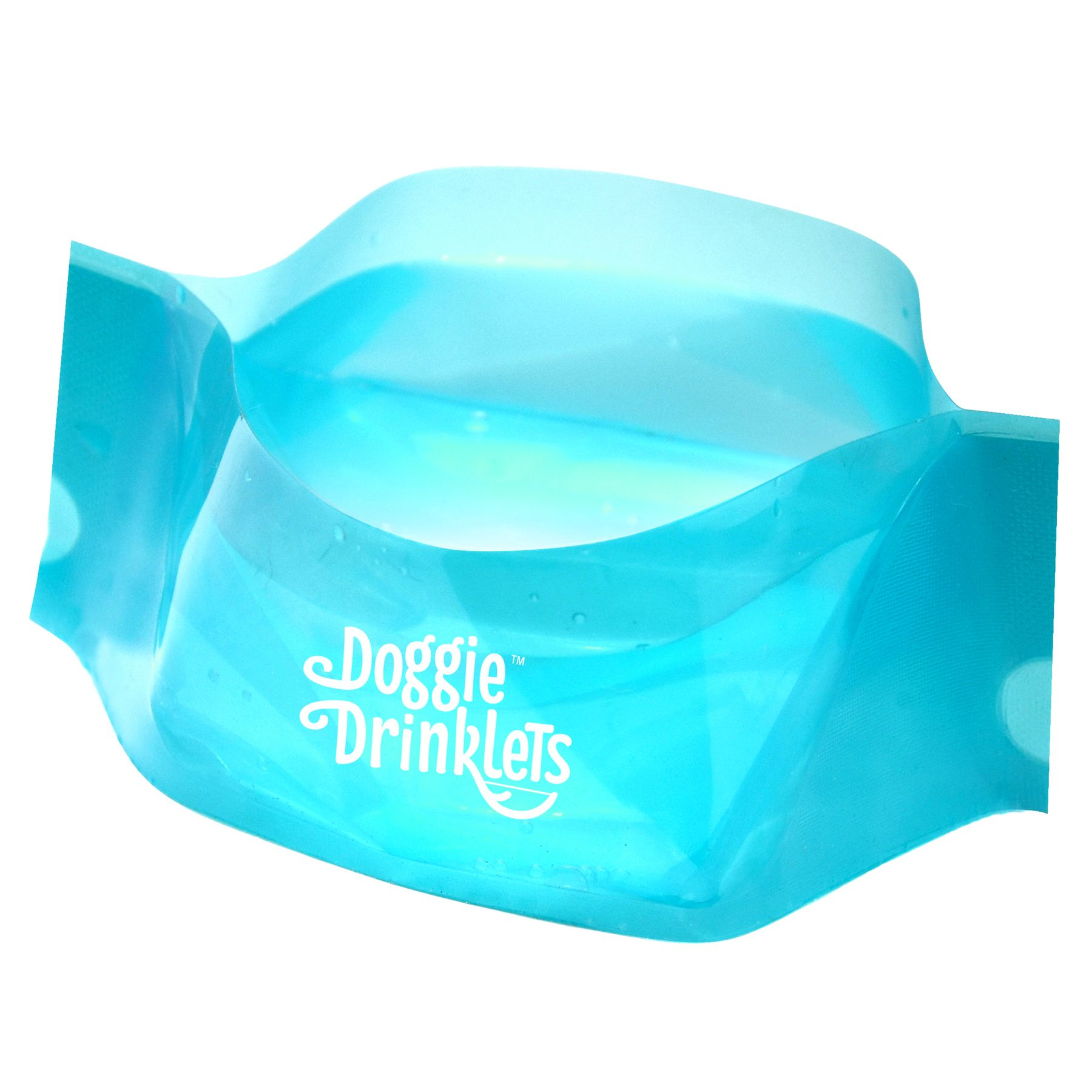 PupLight Doggie, Drinklet 5-Pack Reusable Water Bowl 5246739