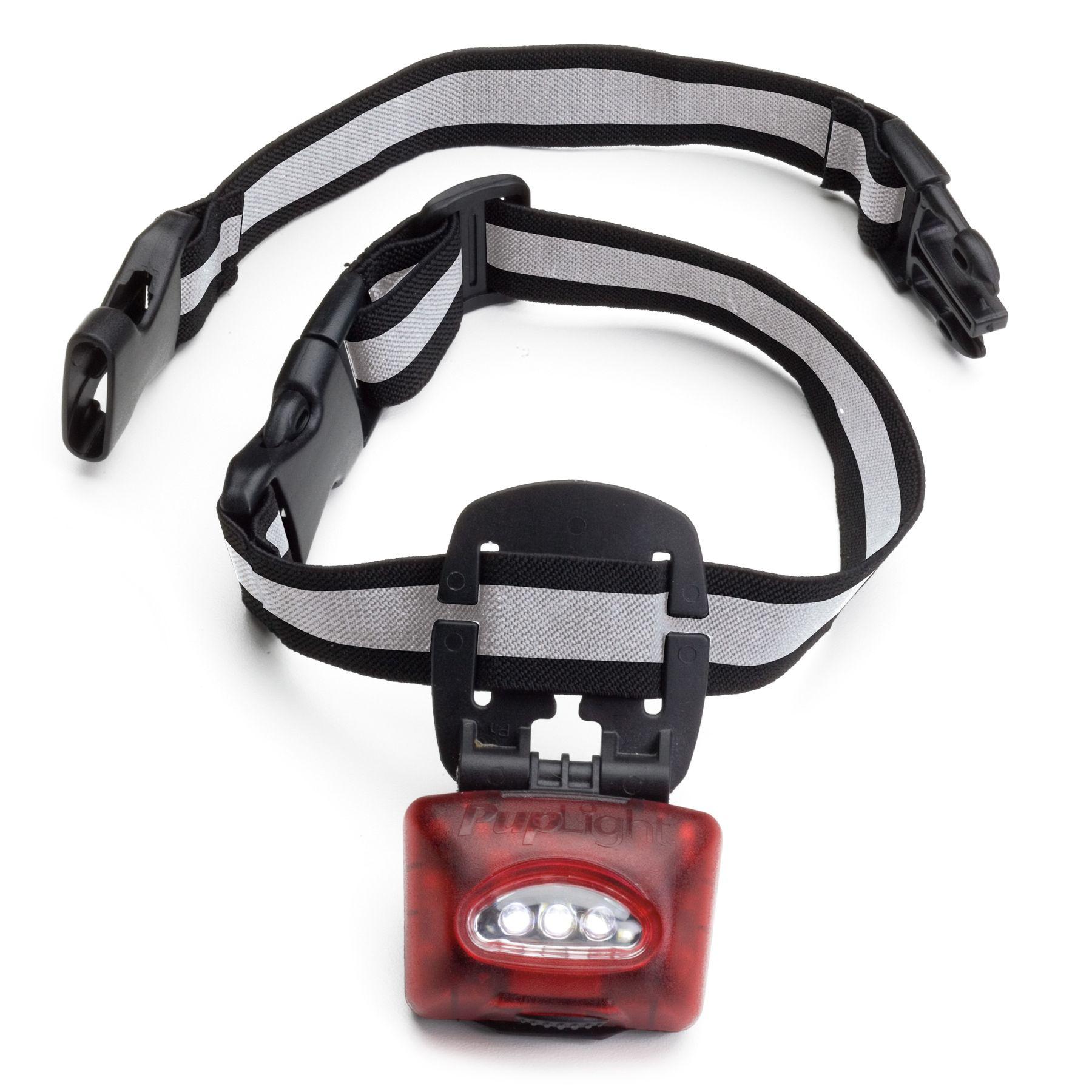 Puplight2 Led Adjustable Dog Collar Red