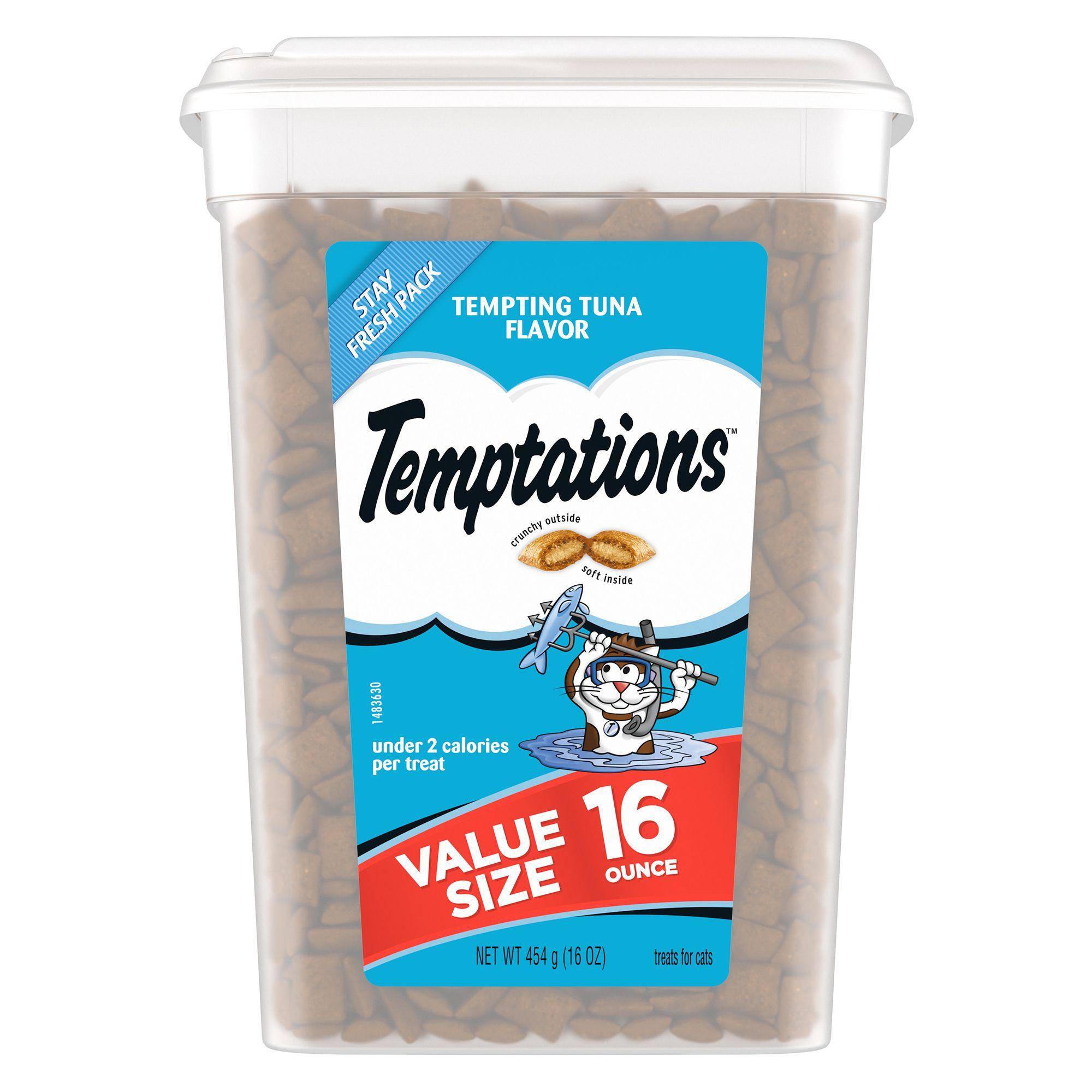 Temptations Cat Treat Tempting Tuna Size 16 Oz