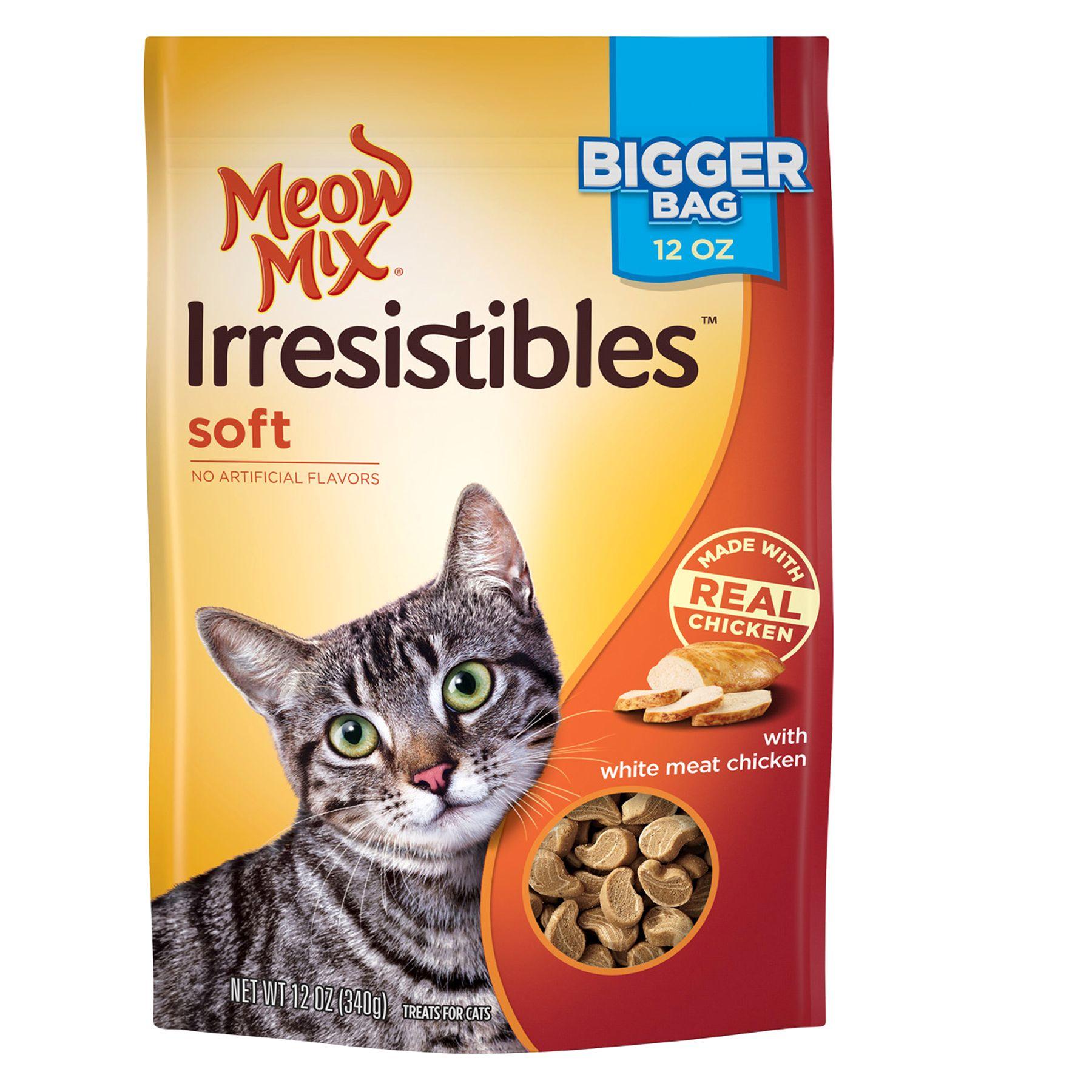Meow Mix® Irresistibles Soft Cat Treat - Chicken size: 12 Oz 5247050