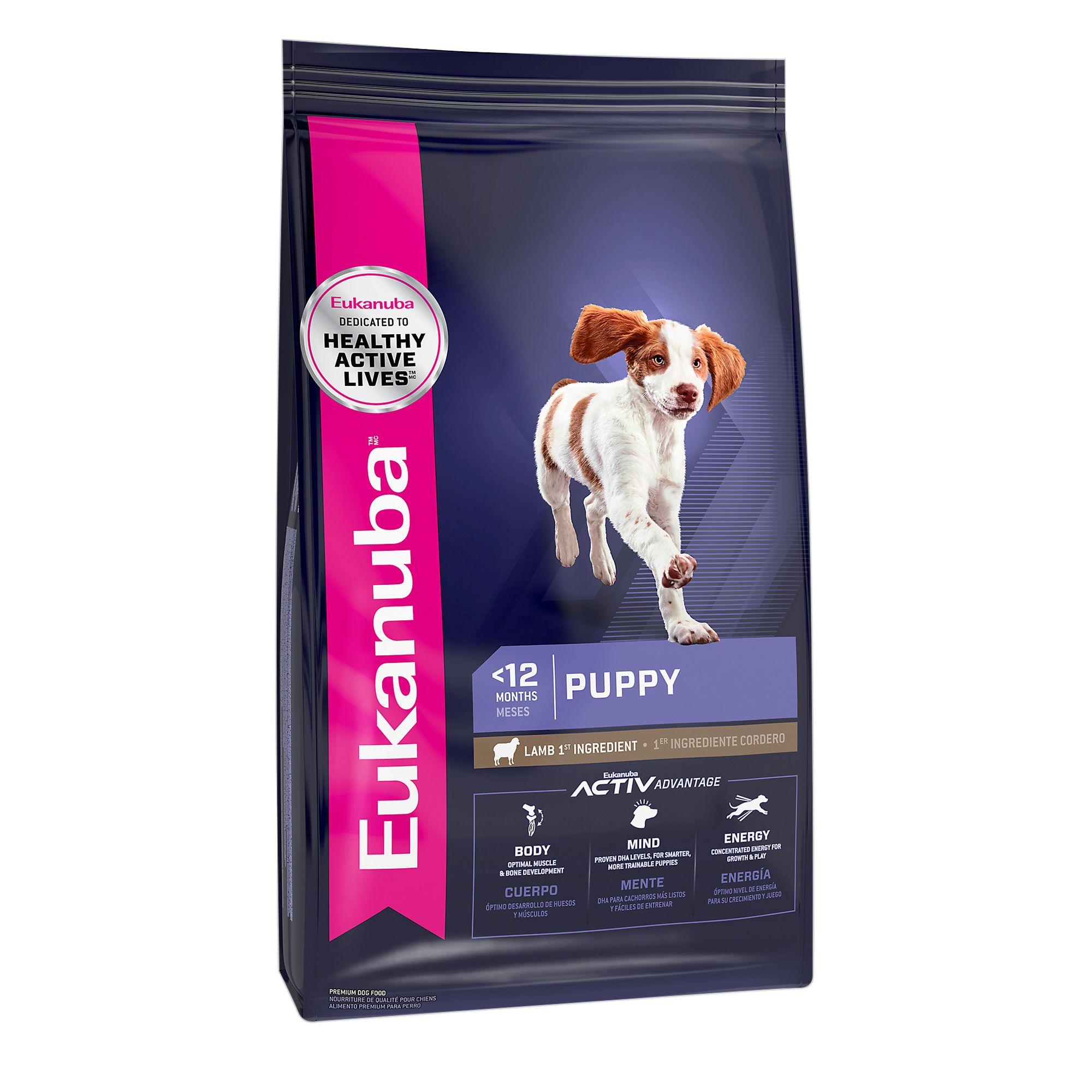 Eukanuba Puppy Food Lamb And Rice Size 30 Lb
