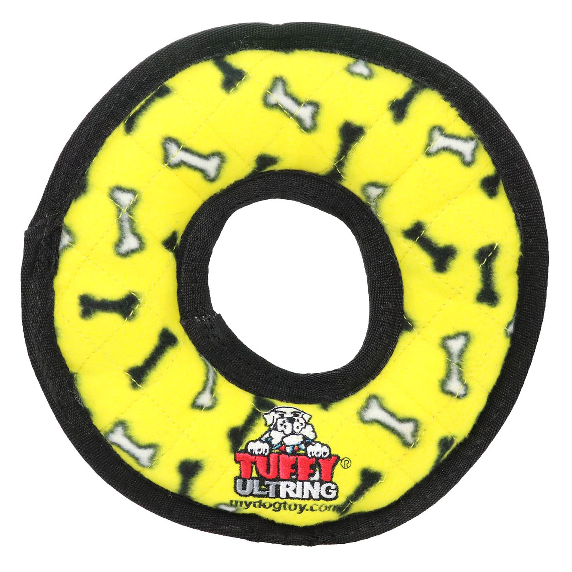 Tuffy Ultimate Ring Dog Toy Squeaker