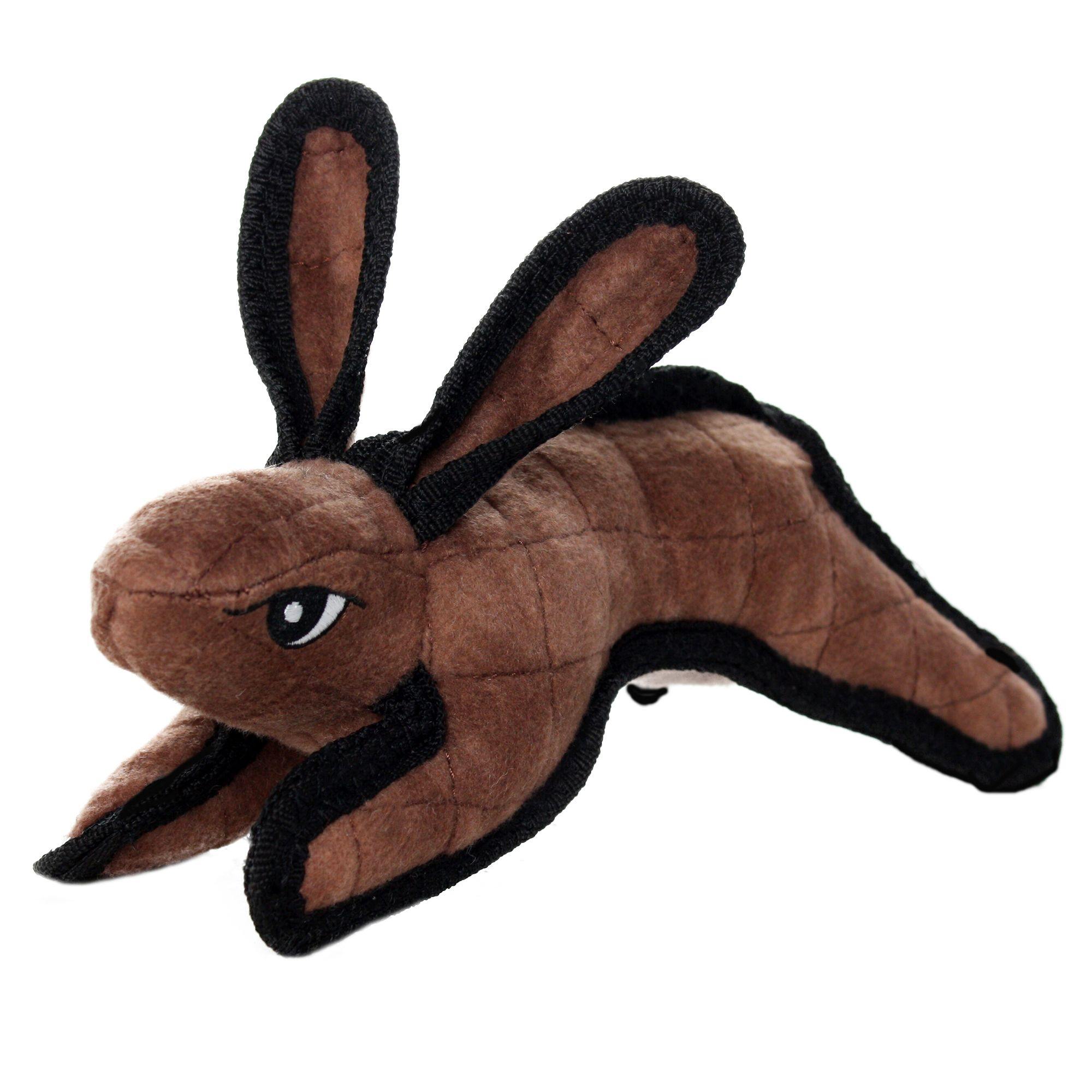 Tuffy Junior Rabbit Dog Toy Squeaker