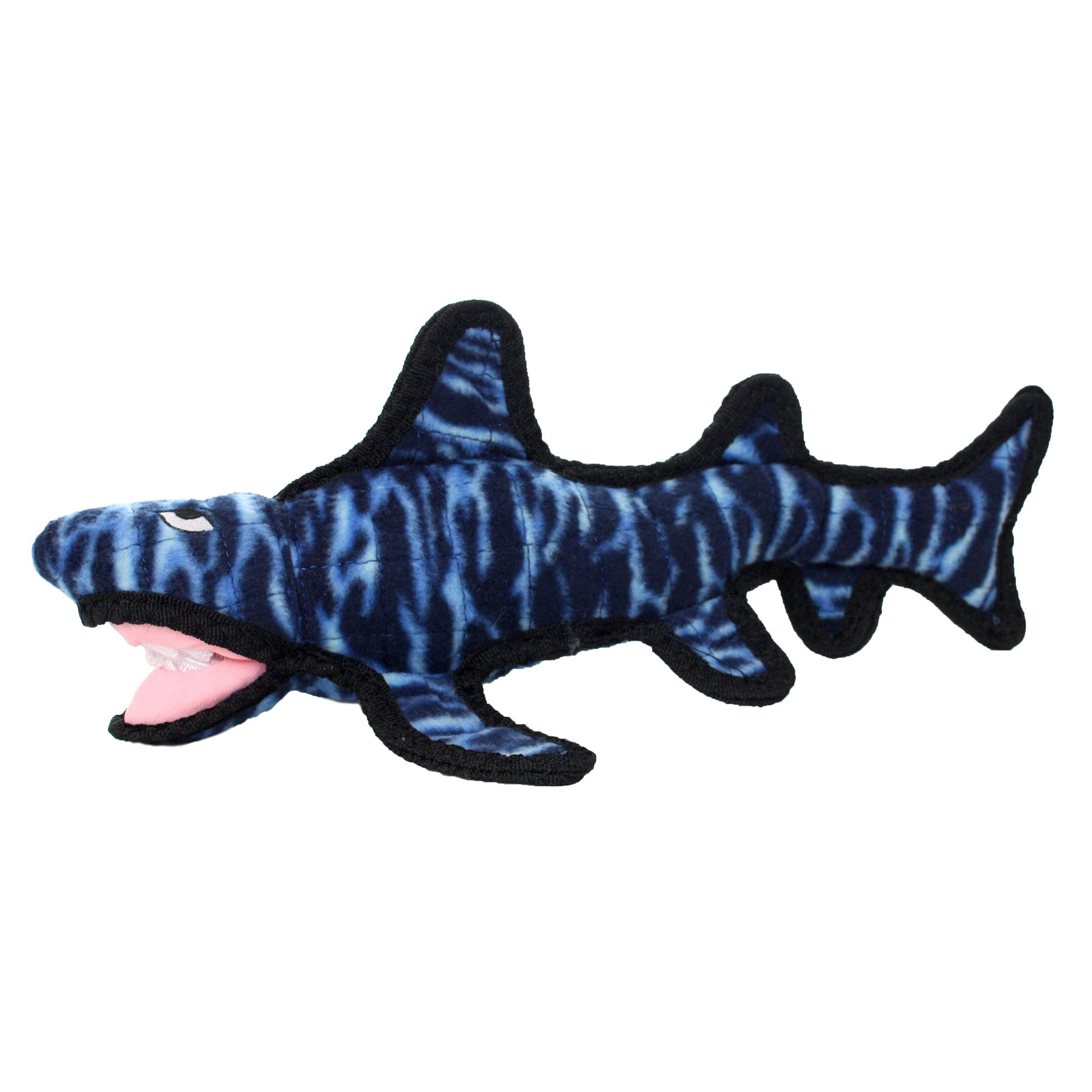 Tuffy Shark Dog Toy - Squeaker