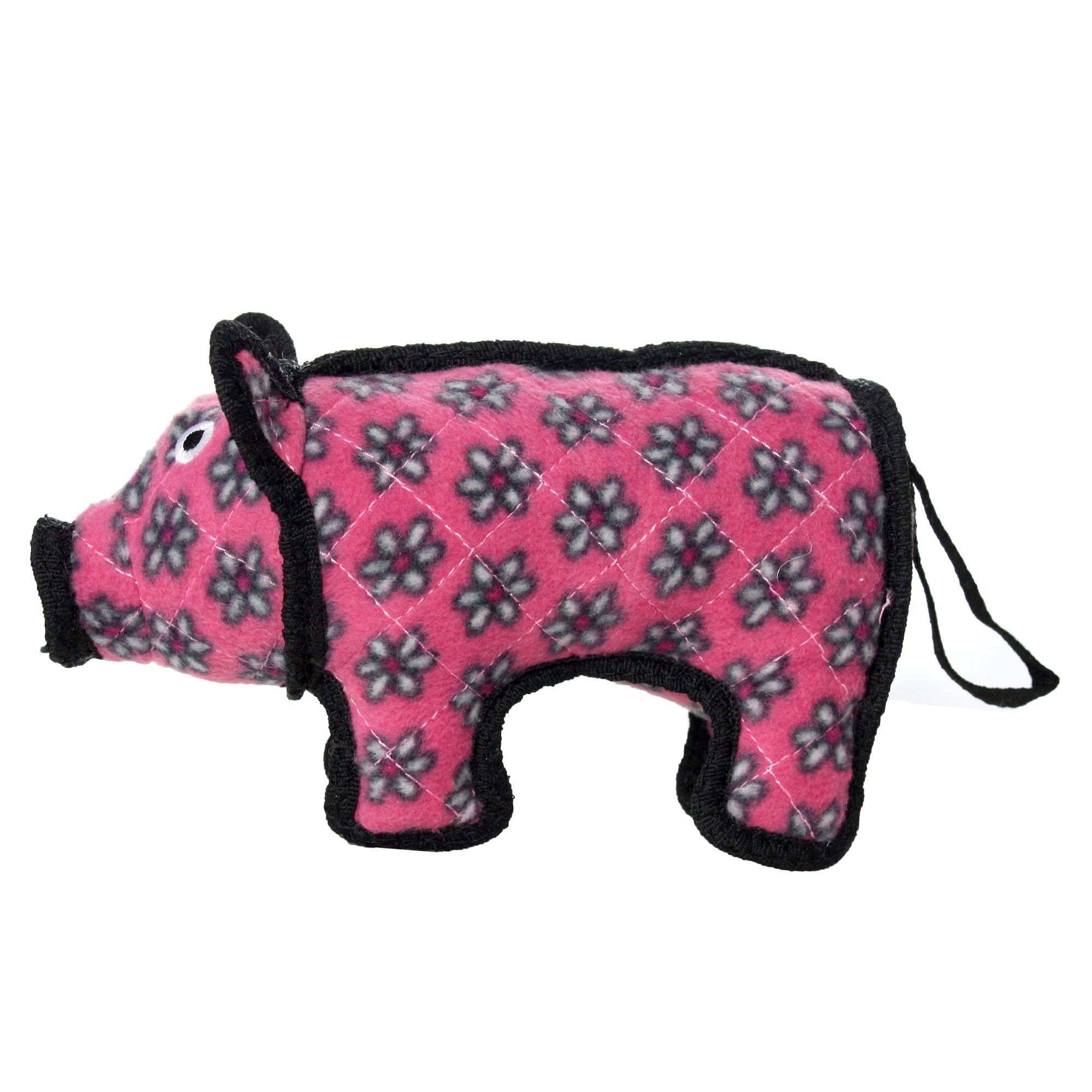 Tuffy Junior Pig Dog Toy Squeaker