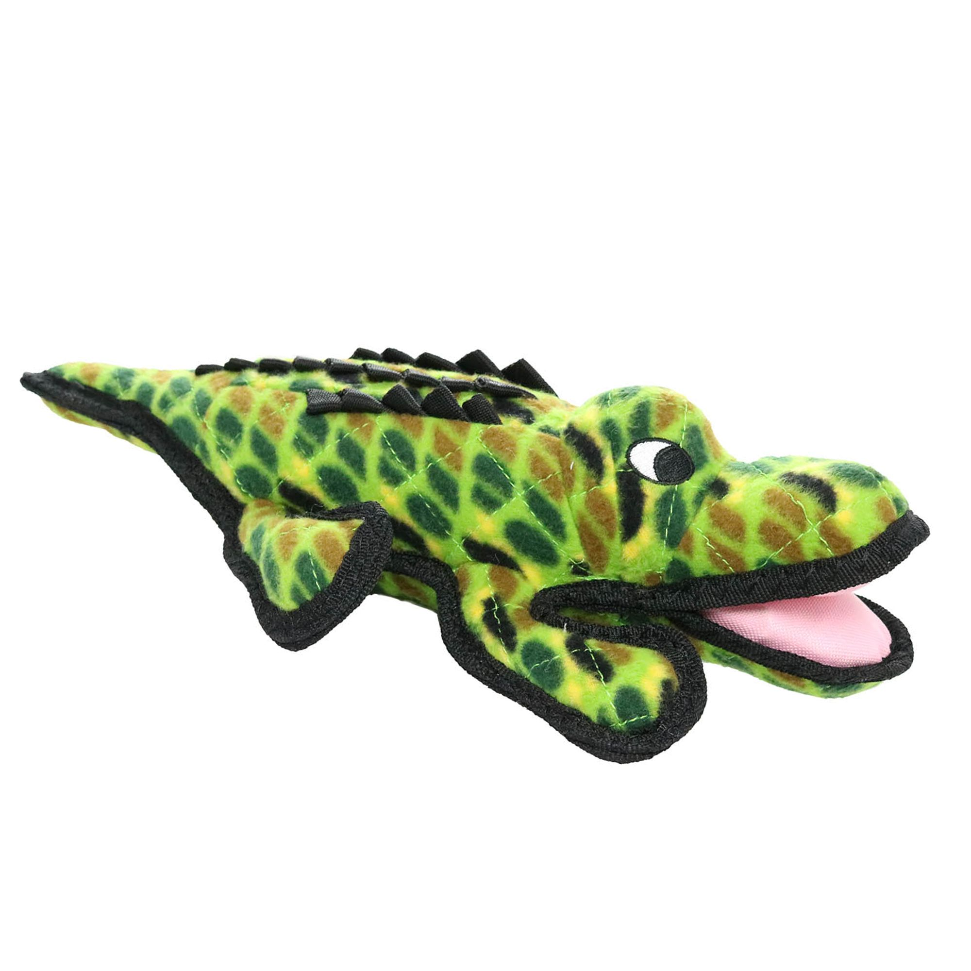 Tuffy Alligator Dog Toy Squeaker