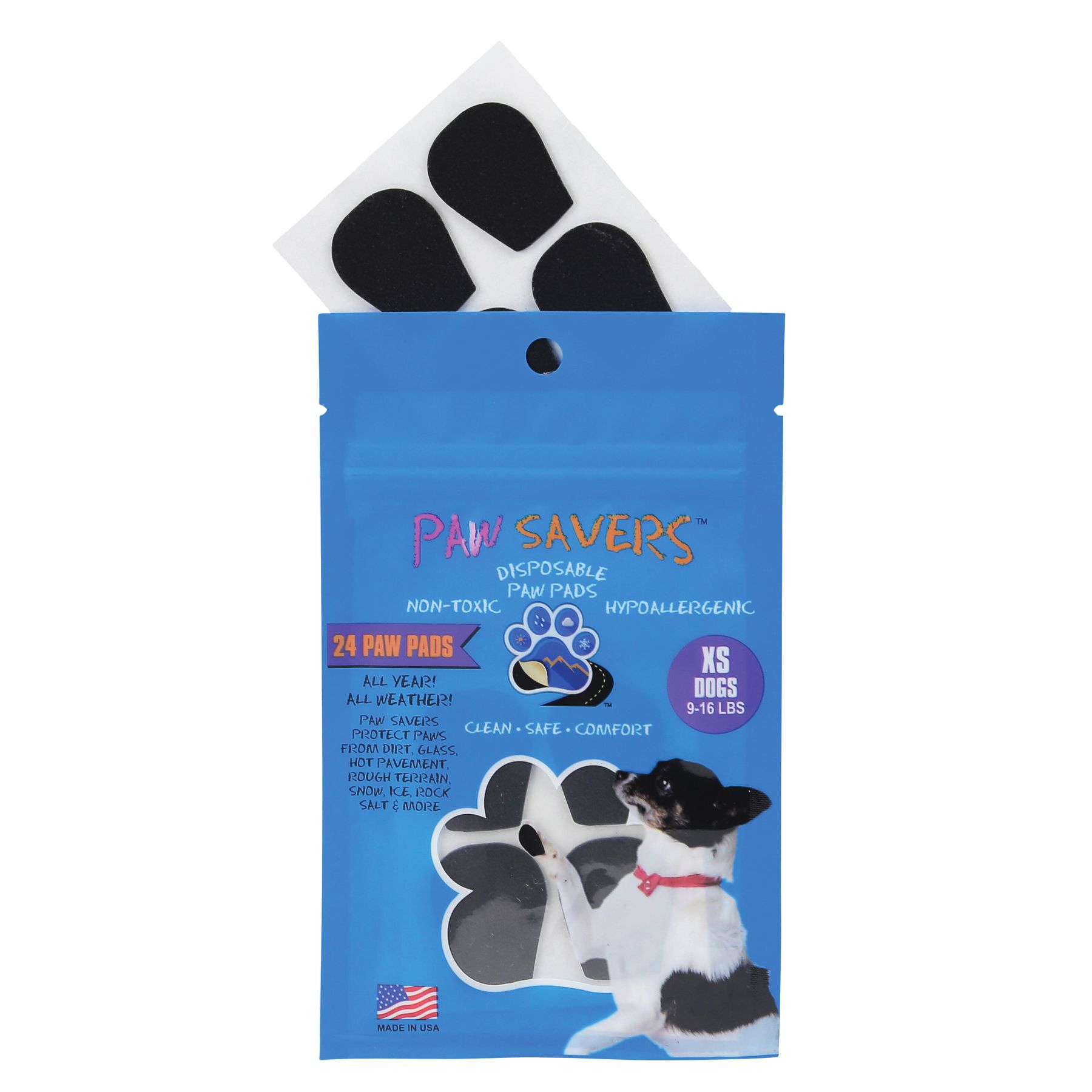 Paw Savers Disposable Paw Pads Size X Small