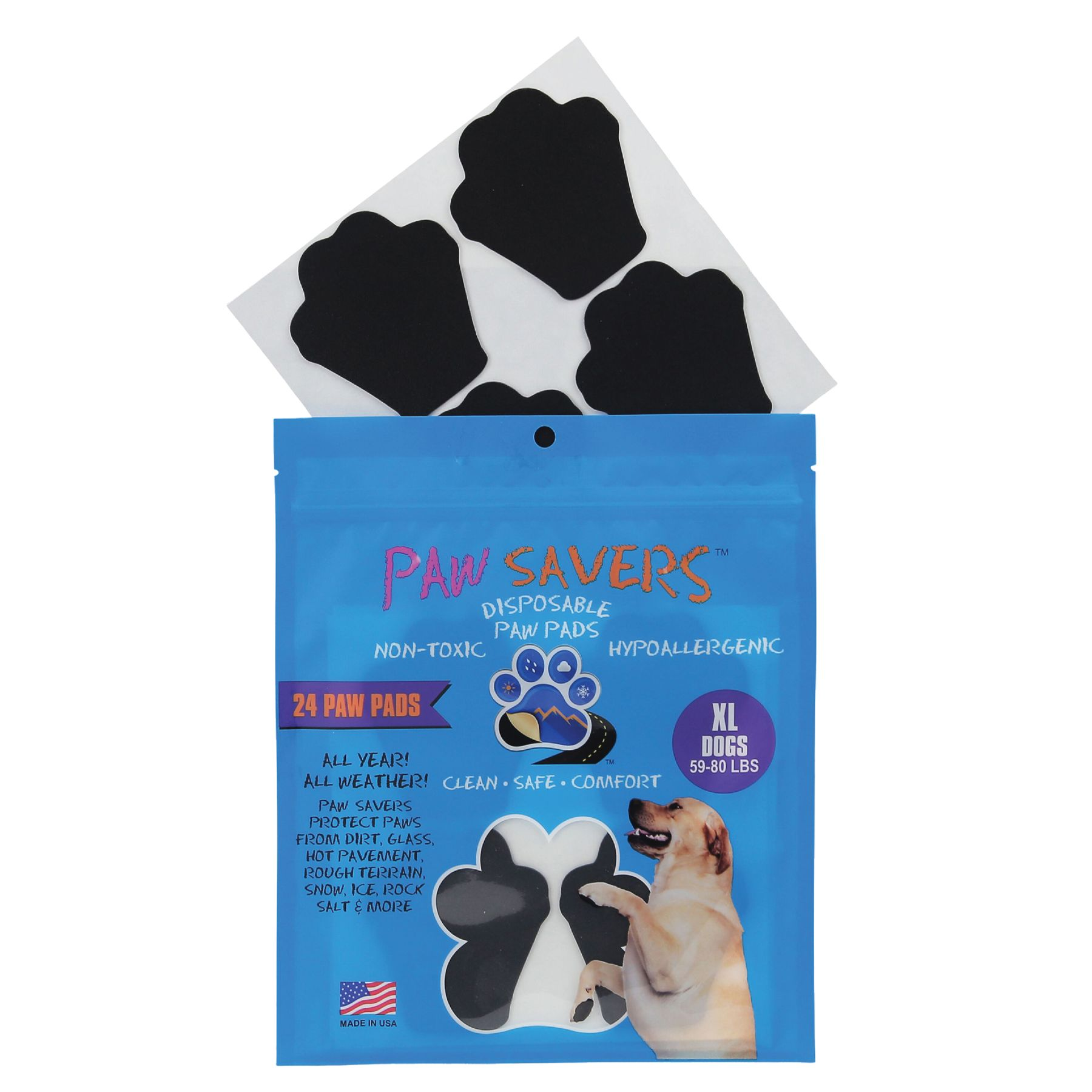 Paw Savers Disposable Paw Pads Size X Large