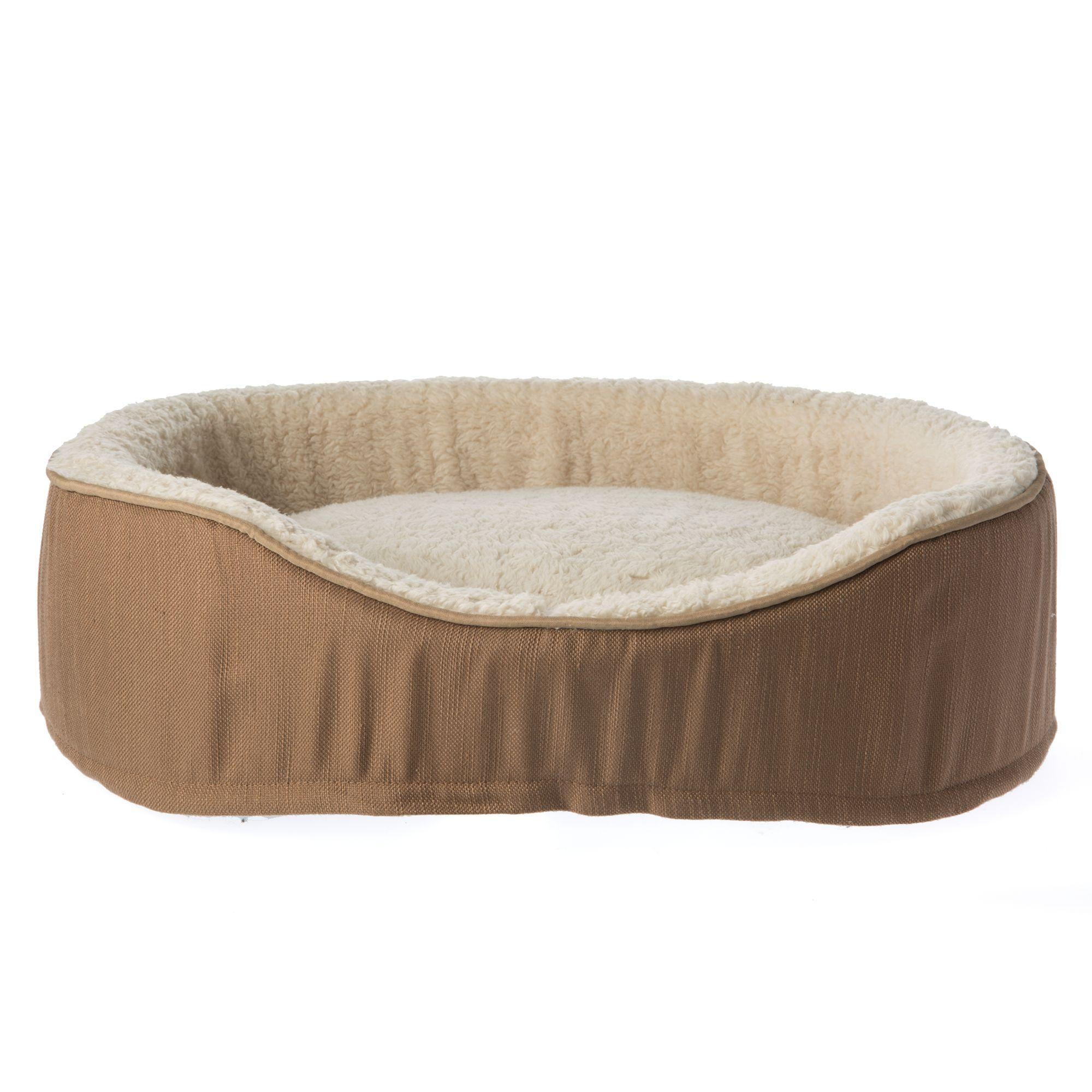 Top Paw 174 Orthopedic Memory Foam Cuddler Dog Bed