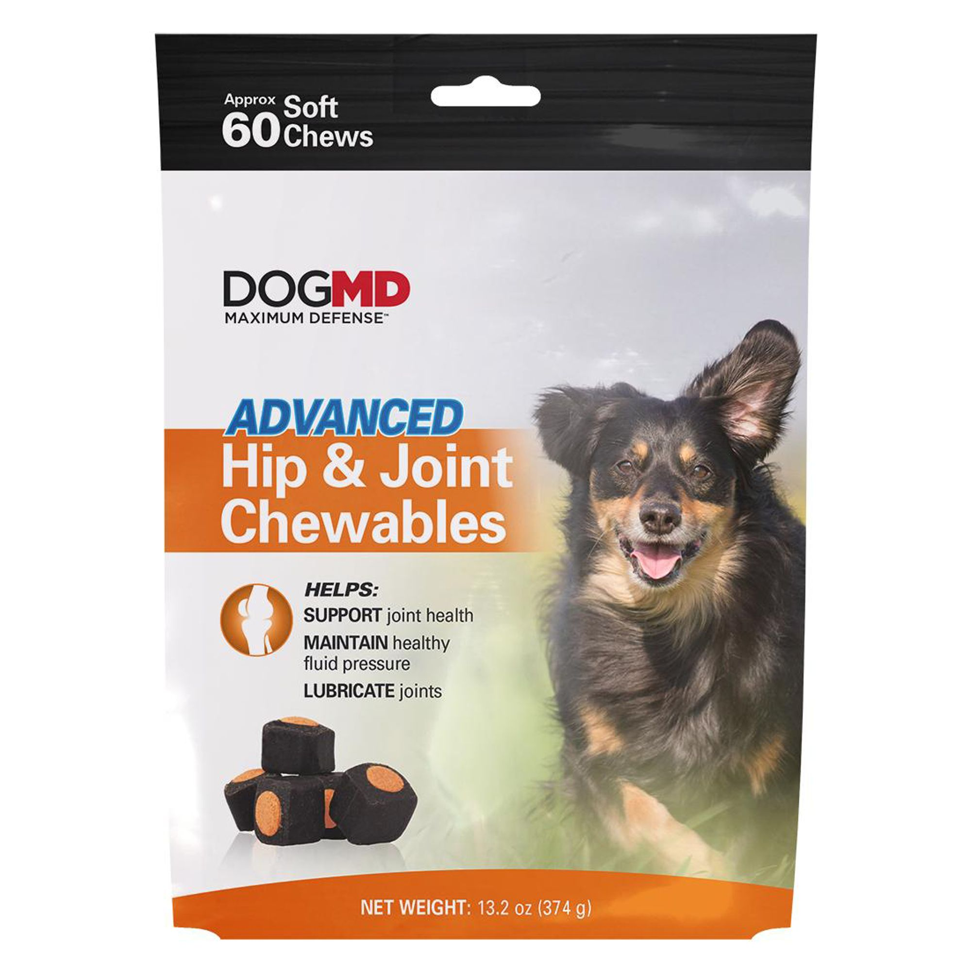 Dog Md Advanced Hip And Joint Dog Chewables Size 60 Count
