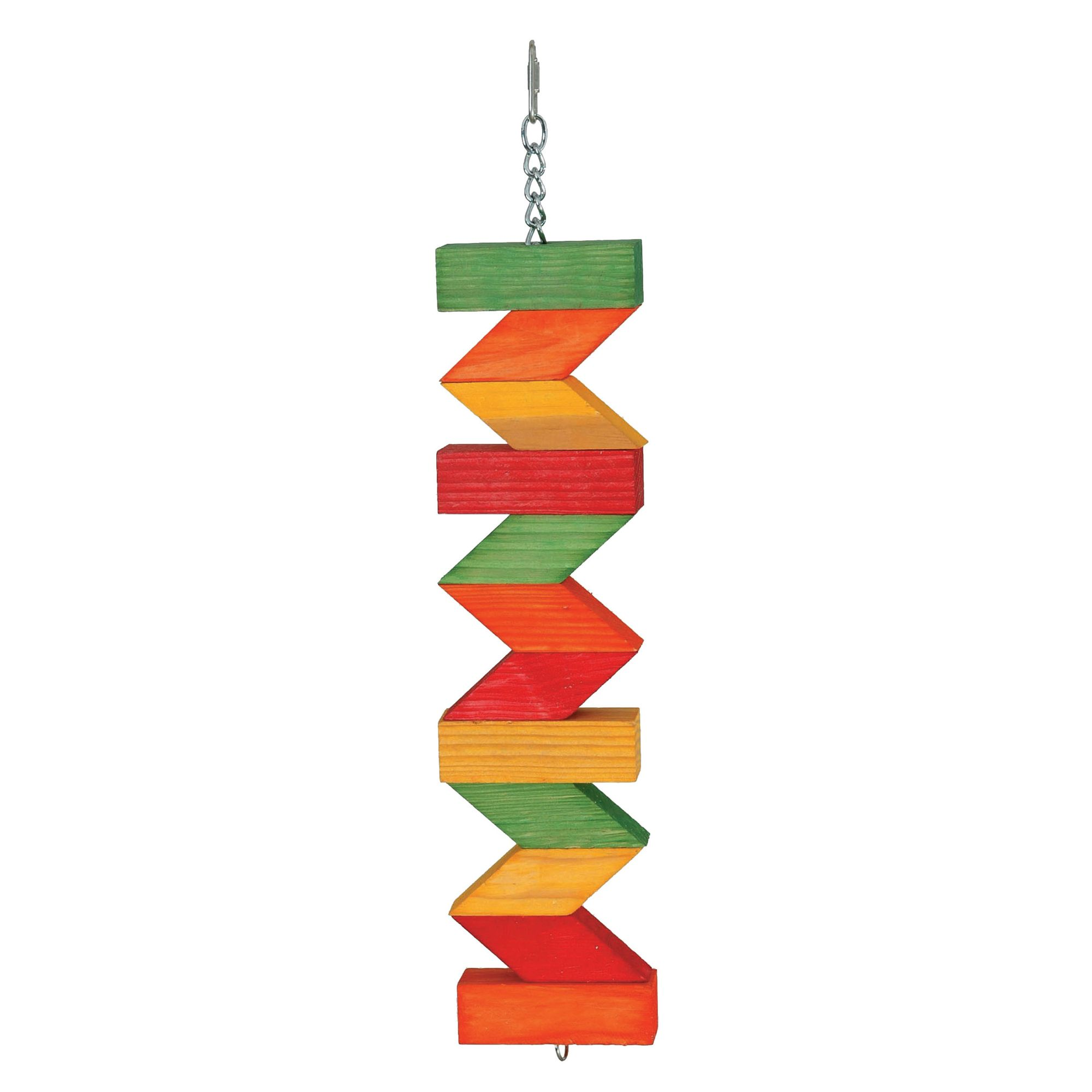 All Living Things® Zig Zag Blocks Bird Toy 5247961