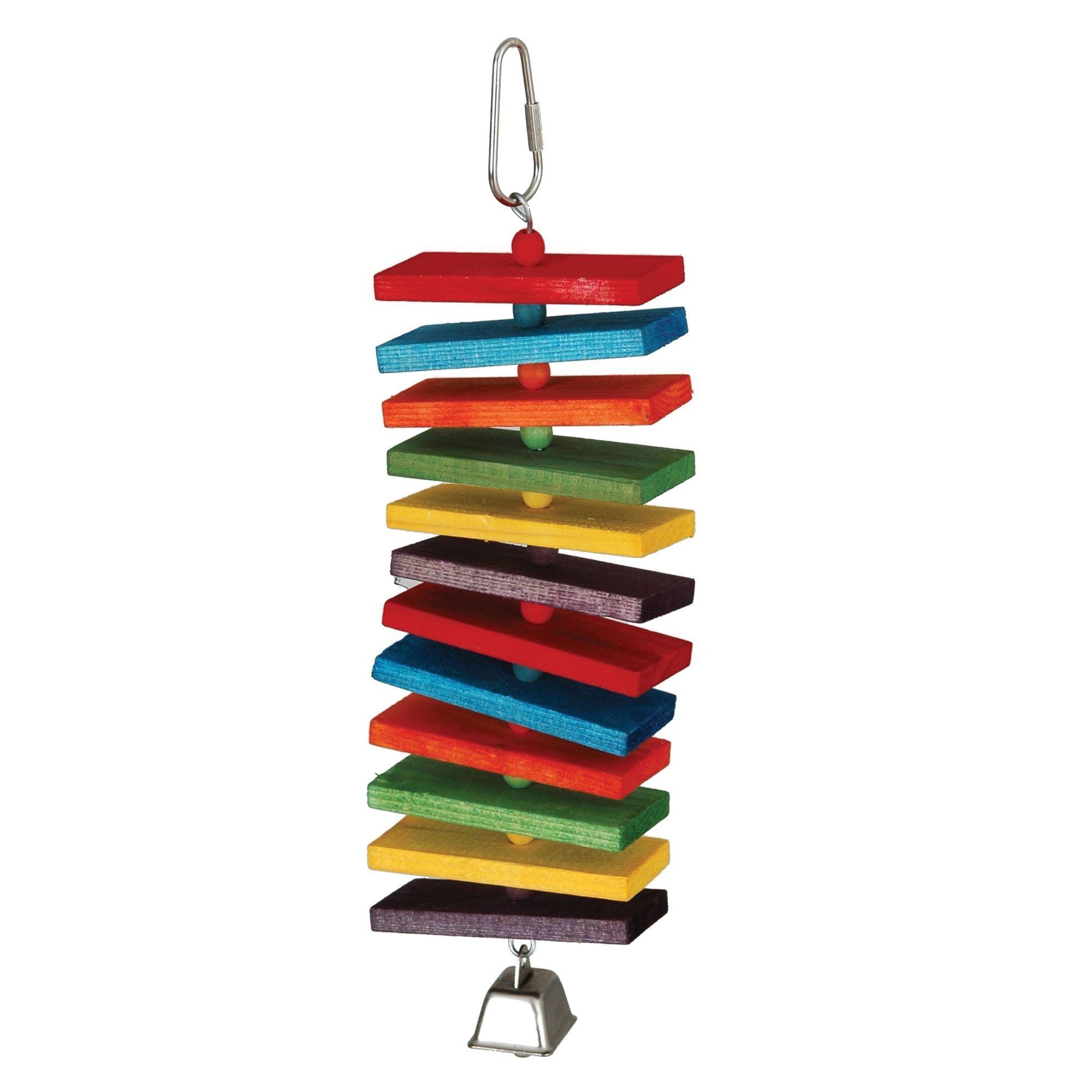 All Living Things Multi-Colored Spiral Bird Toy 5247963