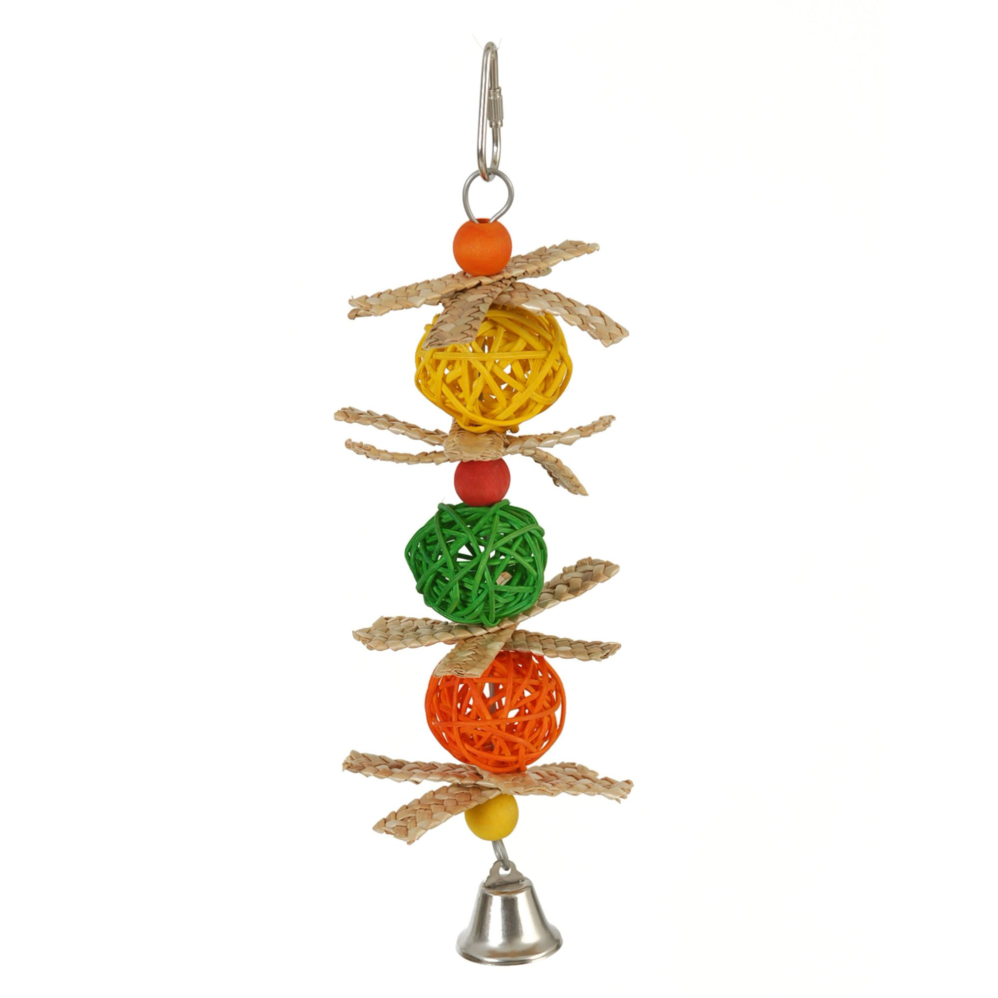 All Living Things Woven Vine Balls Bird Toy 5247964
