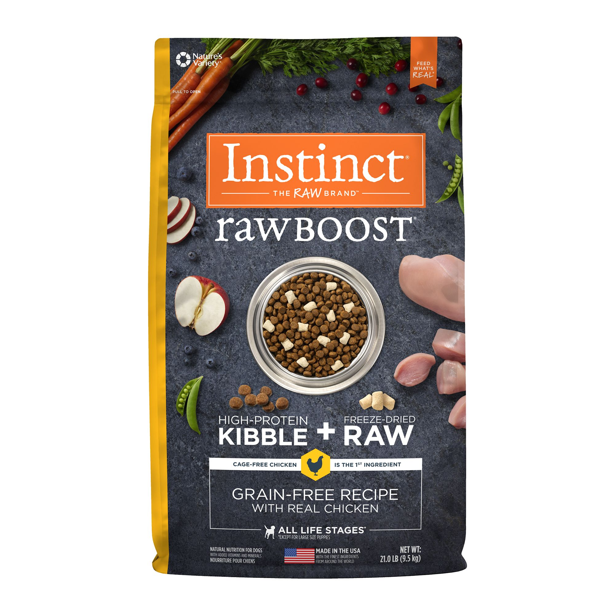 Nature's Variety® Instinct® Raw Boost Dog Food - Gra