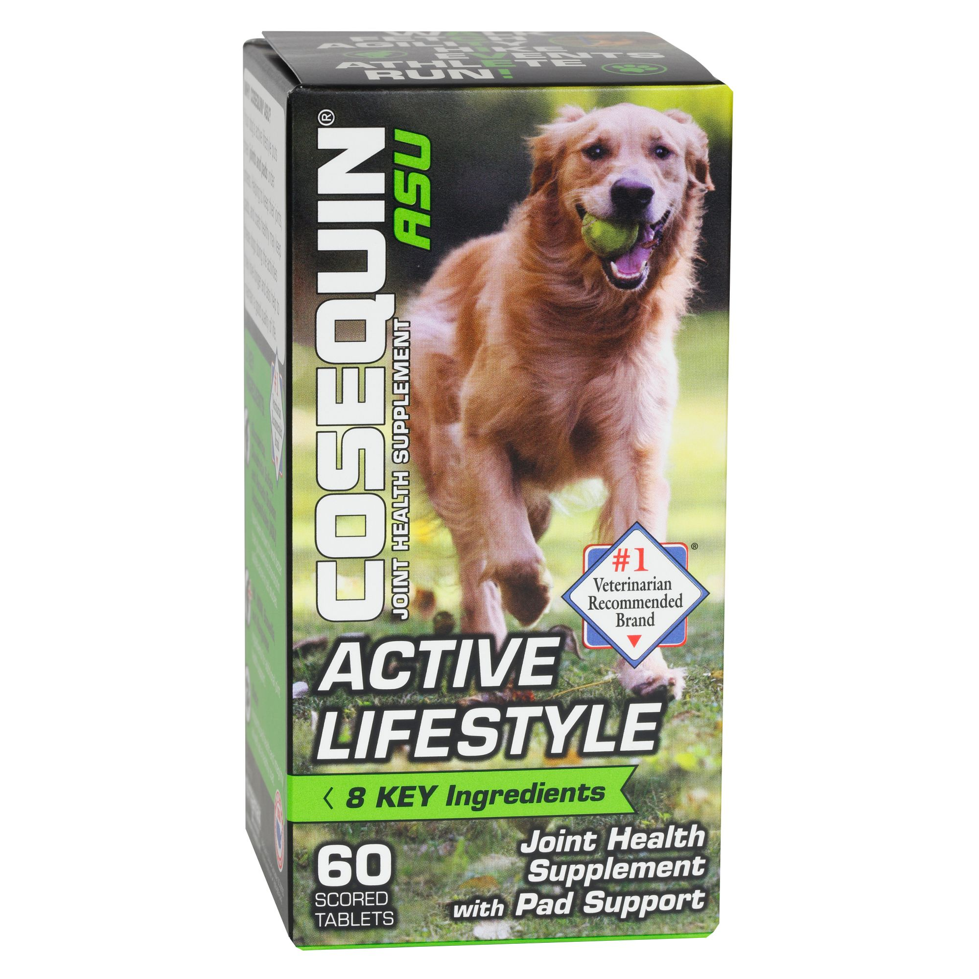 Cosequin Asu Active Lifestyle Joint Health Dog Supplement Size 30 Count Nutramax Laboratories