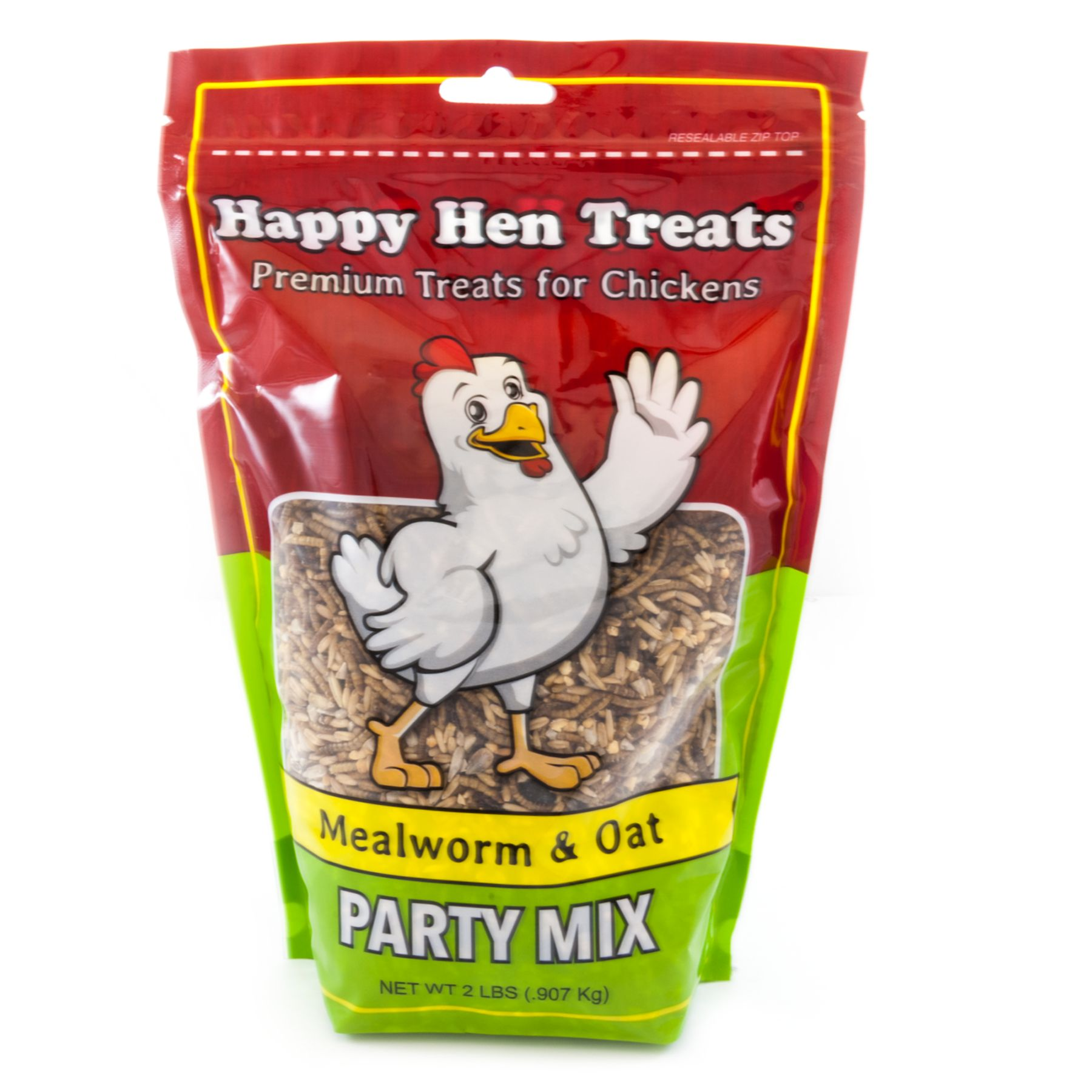 Happy Hen Treats Mealworm And Oat Party Mix Chicken Treats Size 2 Lb