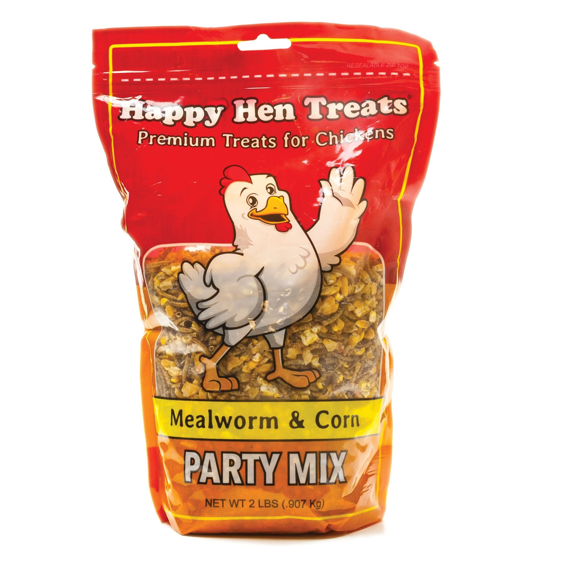 Happy Hen Treats Mealworm And Corn Party Mix Chicken Treats Size 2 Lb
