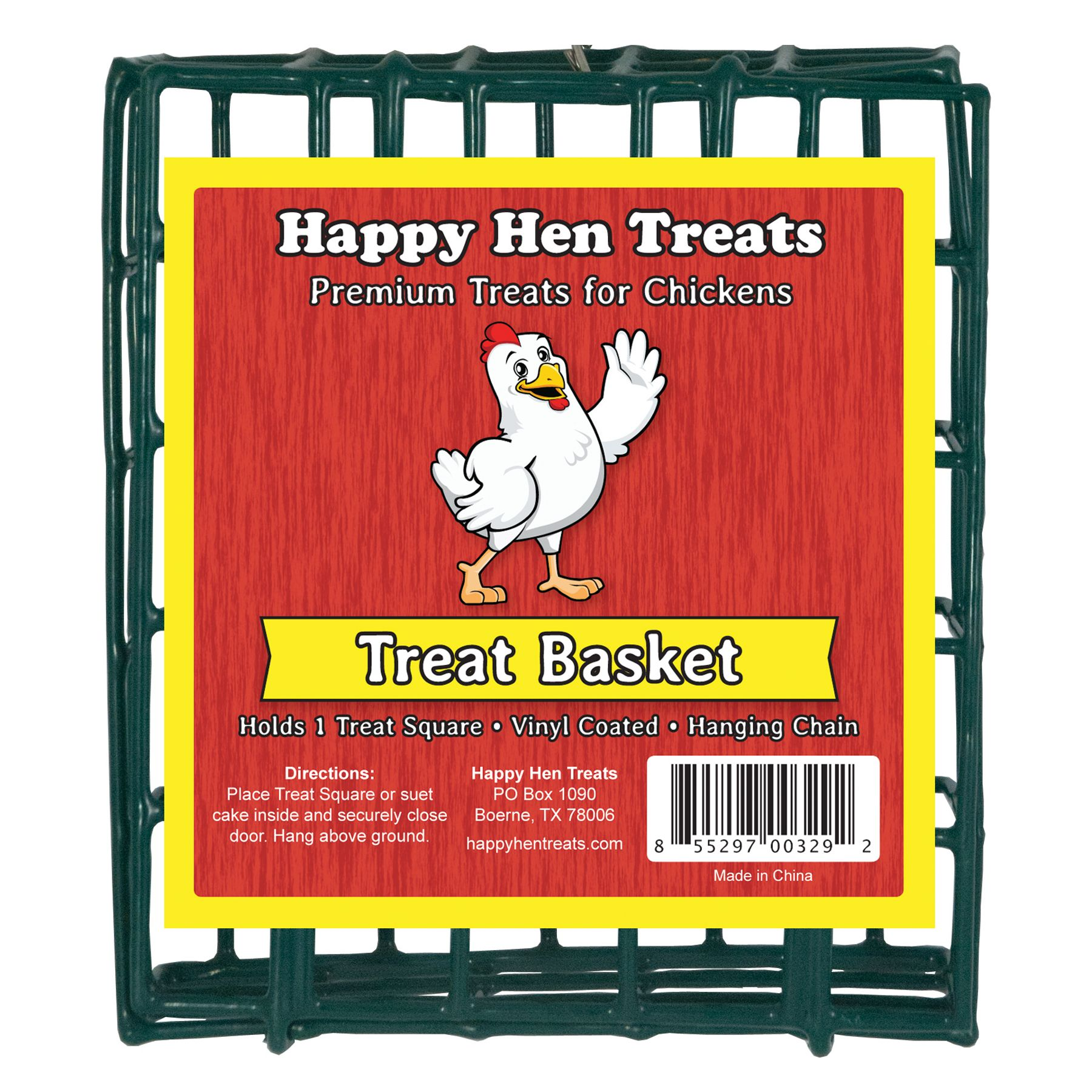 Happy Hen Treats Chicken Square Basket