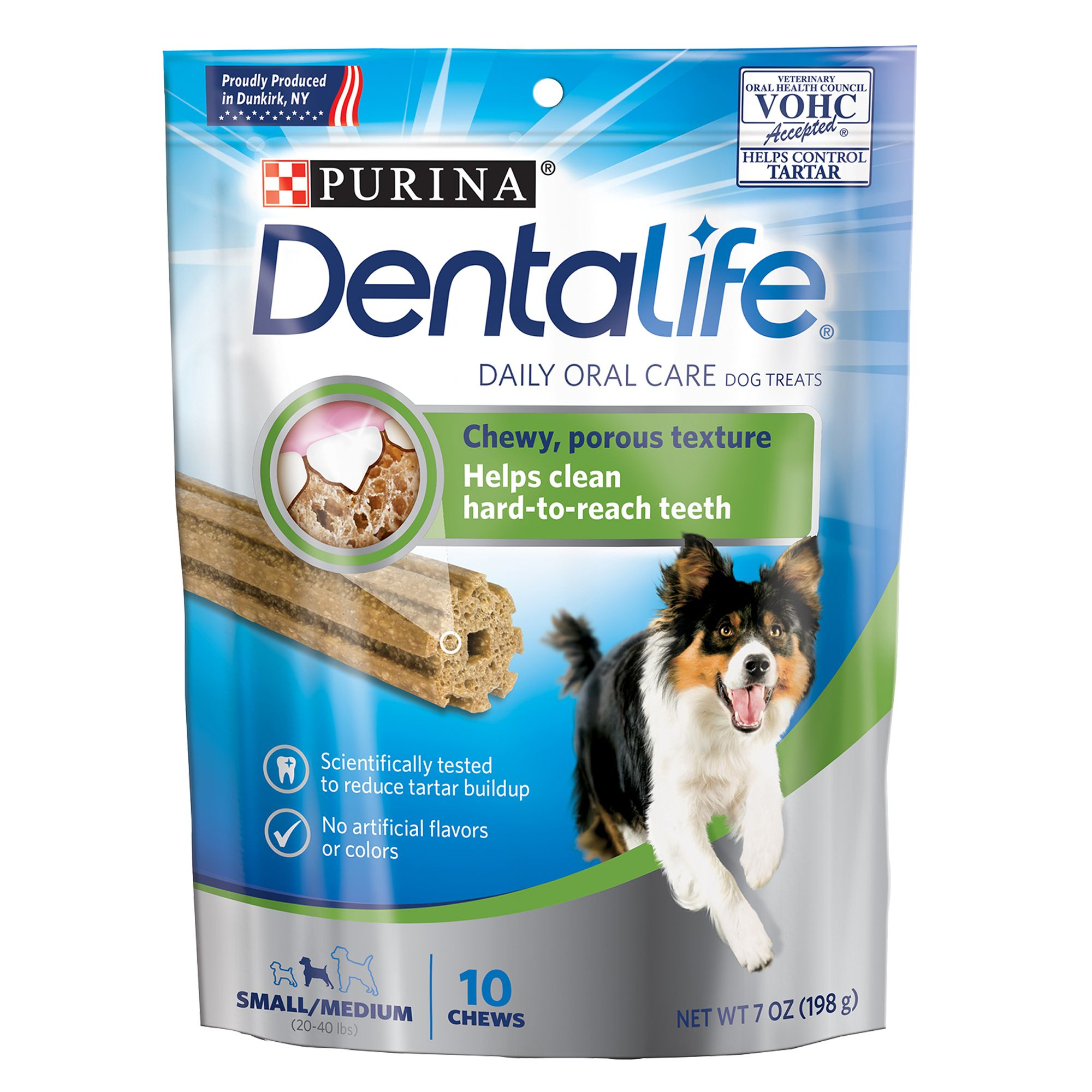 Purina Dentalife Small/medium Dental Dog Treat Size 10 Count