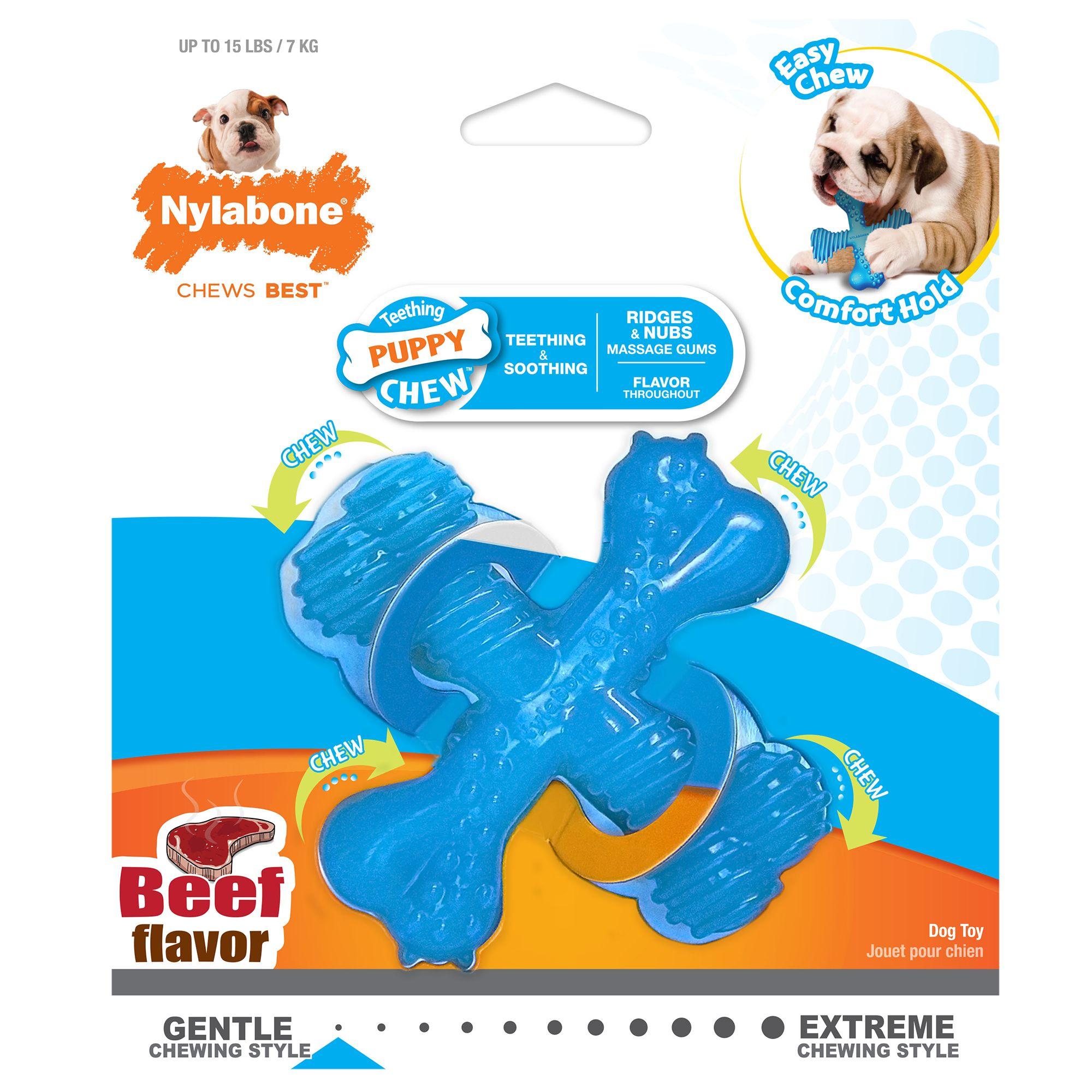Nylabone Puppy X Bone Dog Toy 5249741