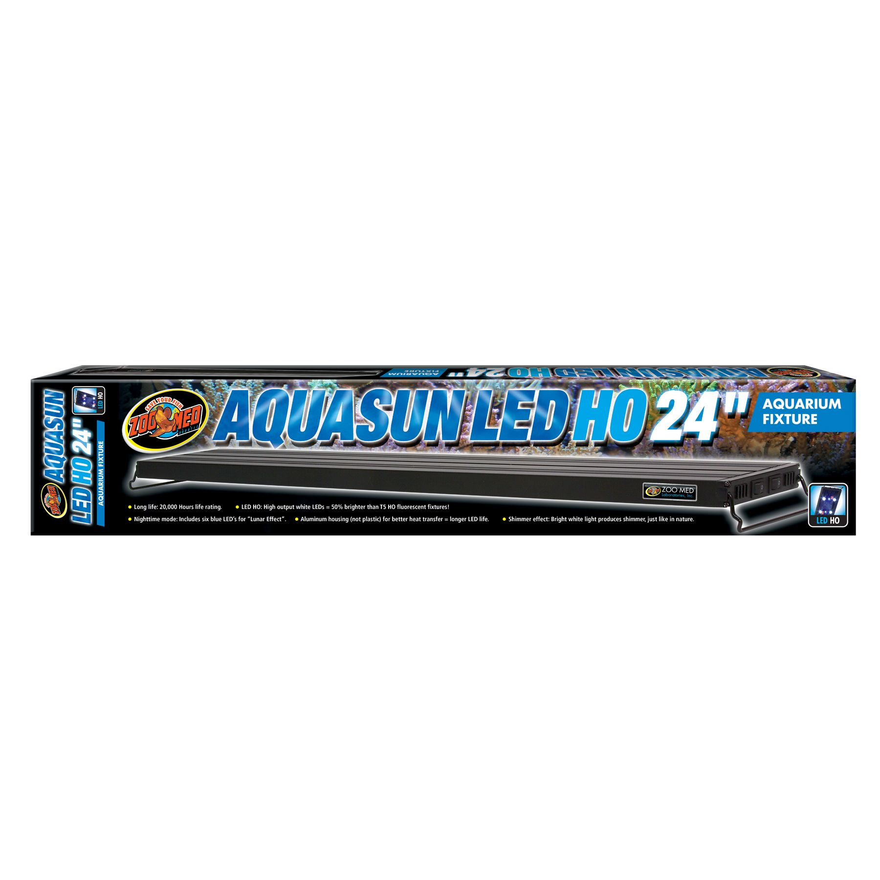 Zoo Med, AquaSun LED Aquarium Light size: 24 in 5249745