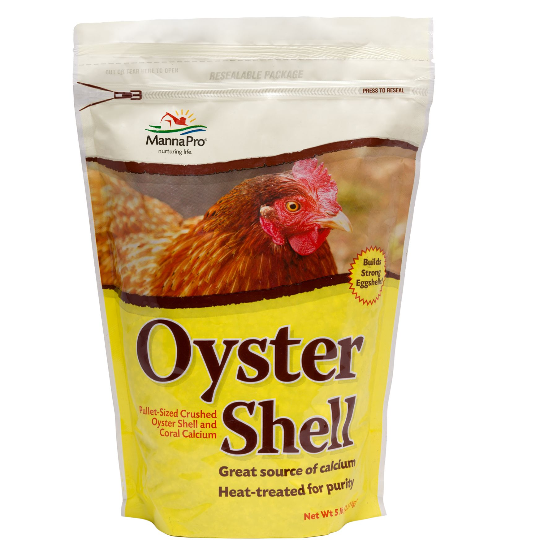 Manna Pro Chicken Oyster Shell Size 5 Lb