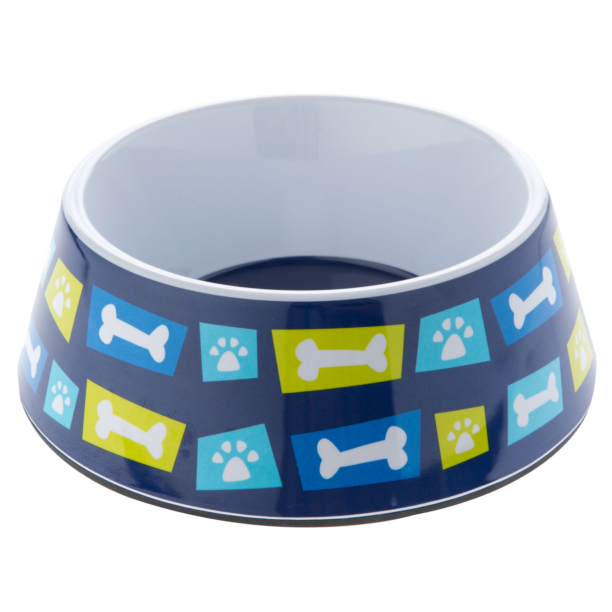 Top Paw Geo Bones Dog Bowl size: 3 C 5250217