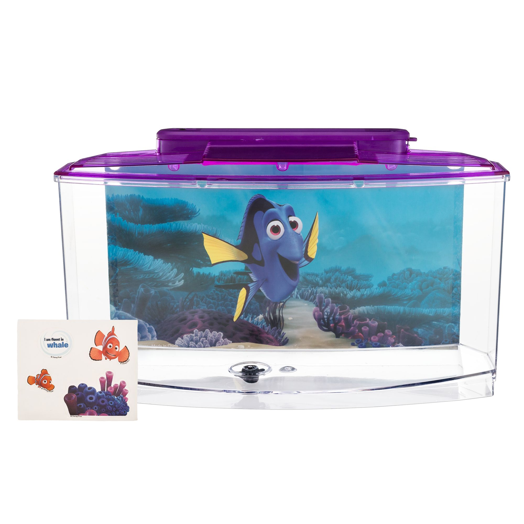 Finding dory betta aquarium shop your way online for Finding dory fish tank