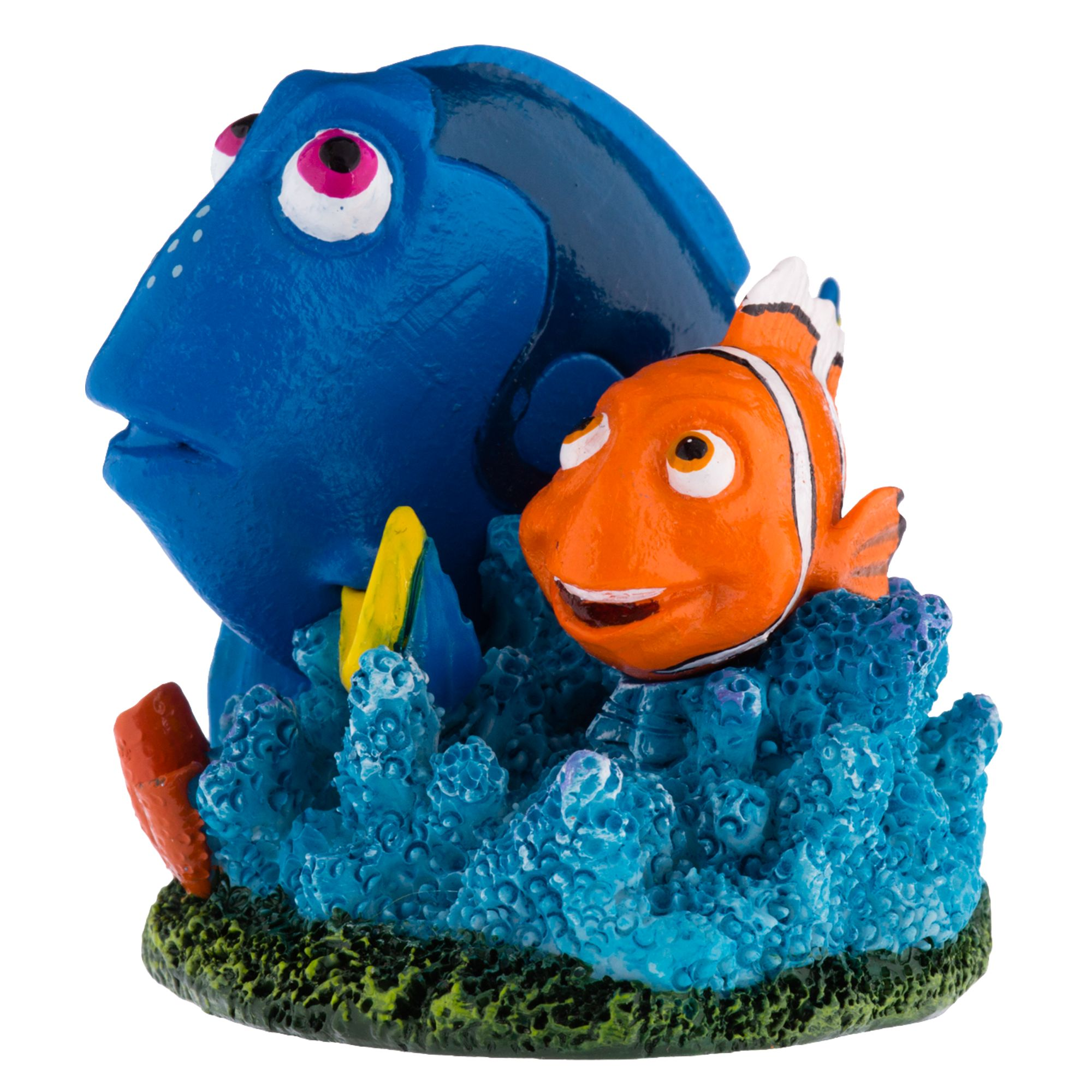 Finding Dory Marlin and Dory Coral Aquarium Ornament 5250500
