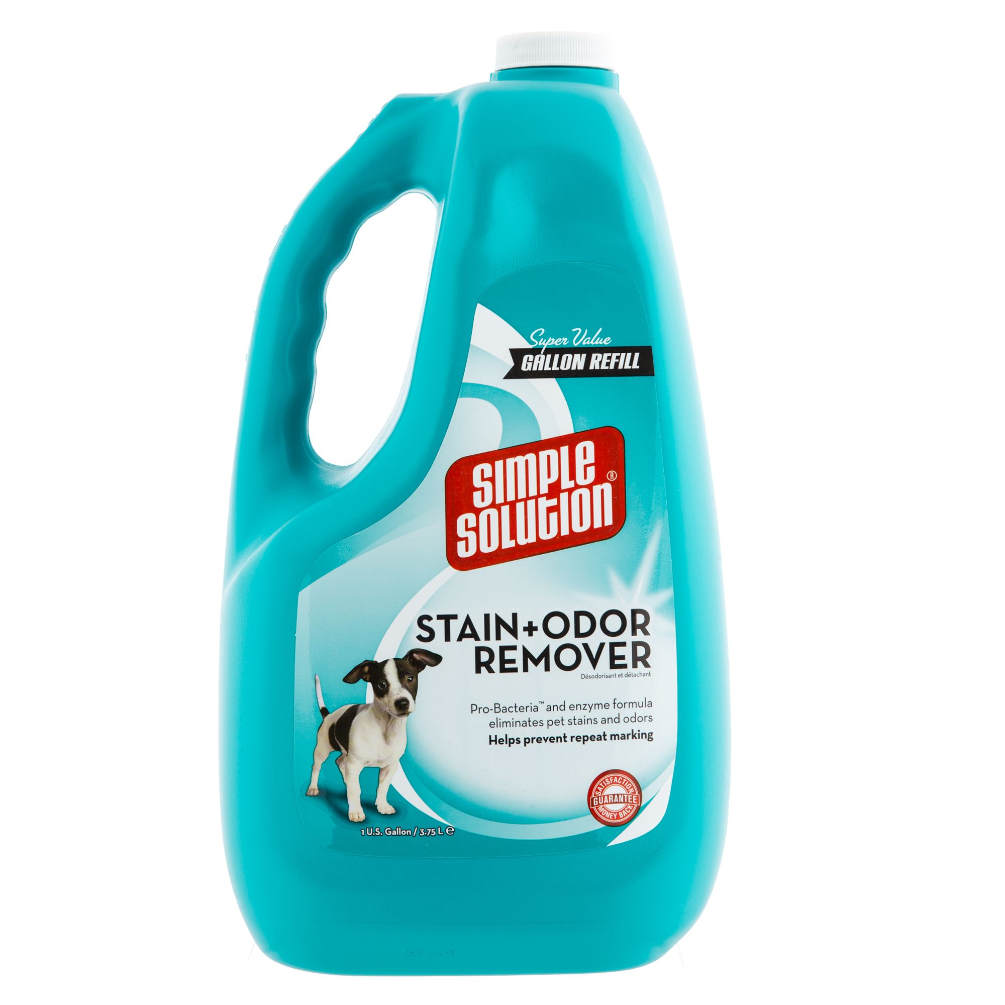 Simple Solution Stain and Odor Remover size: 1 Gal 5251064