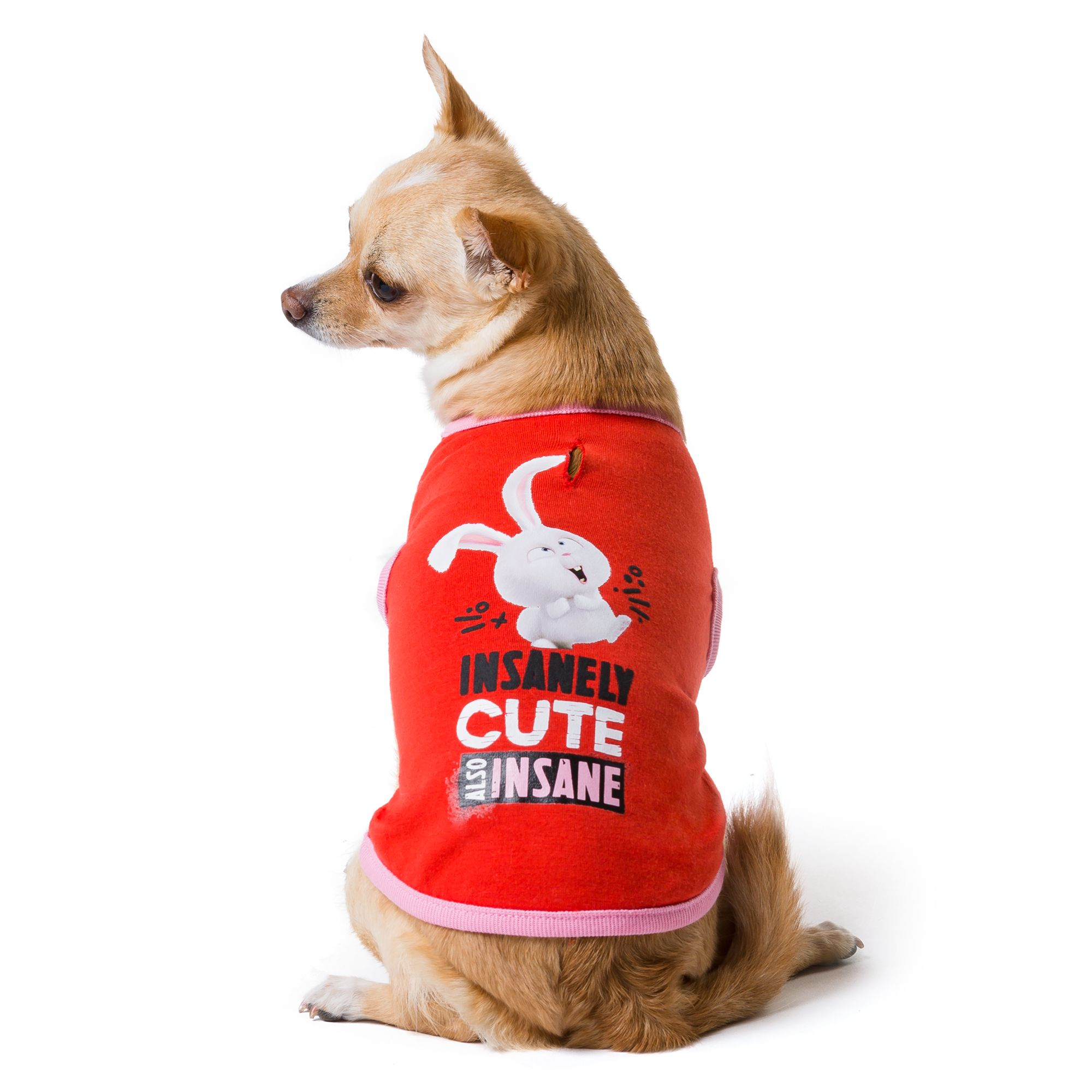 The Secret Life of Pets Snowball Tank size: Small 5251076