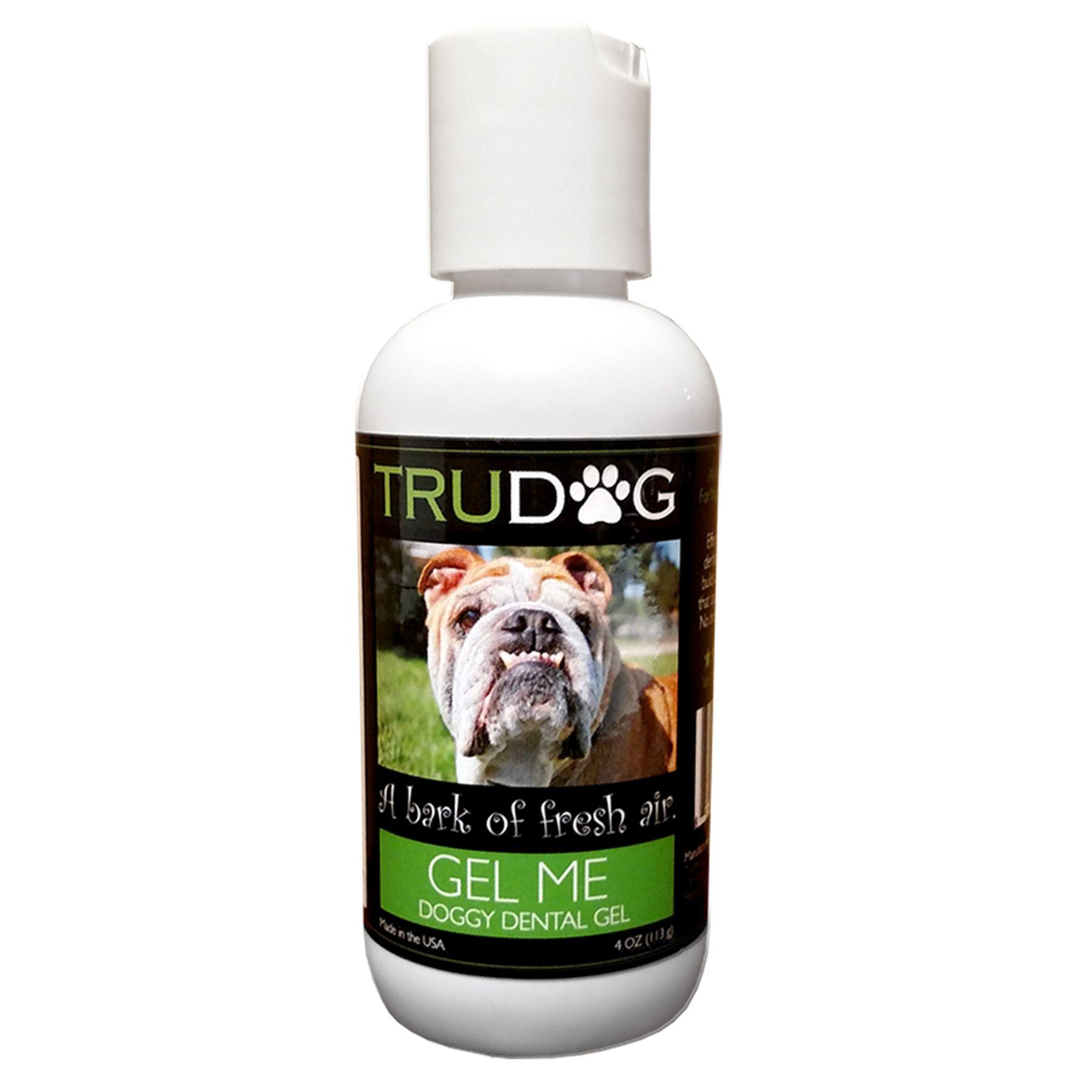 Trudog Gel Me Doggy Dental Gel Size 4 Fl Oz