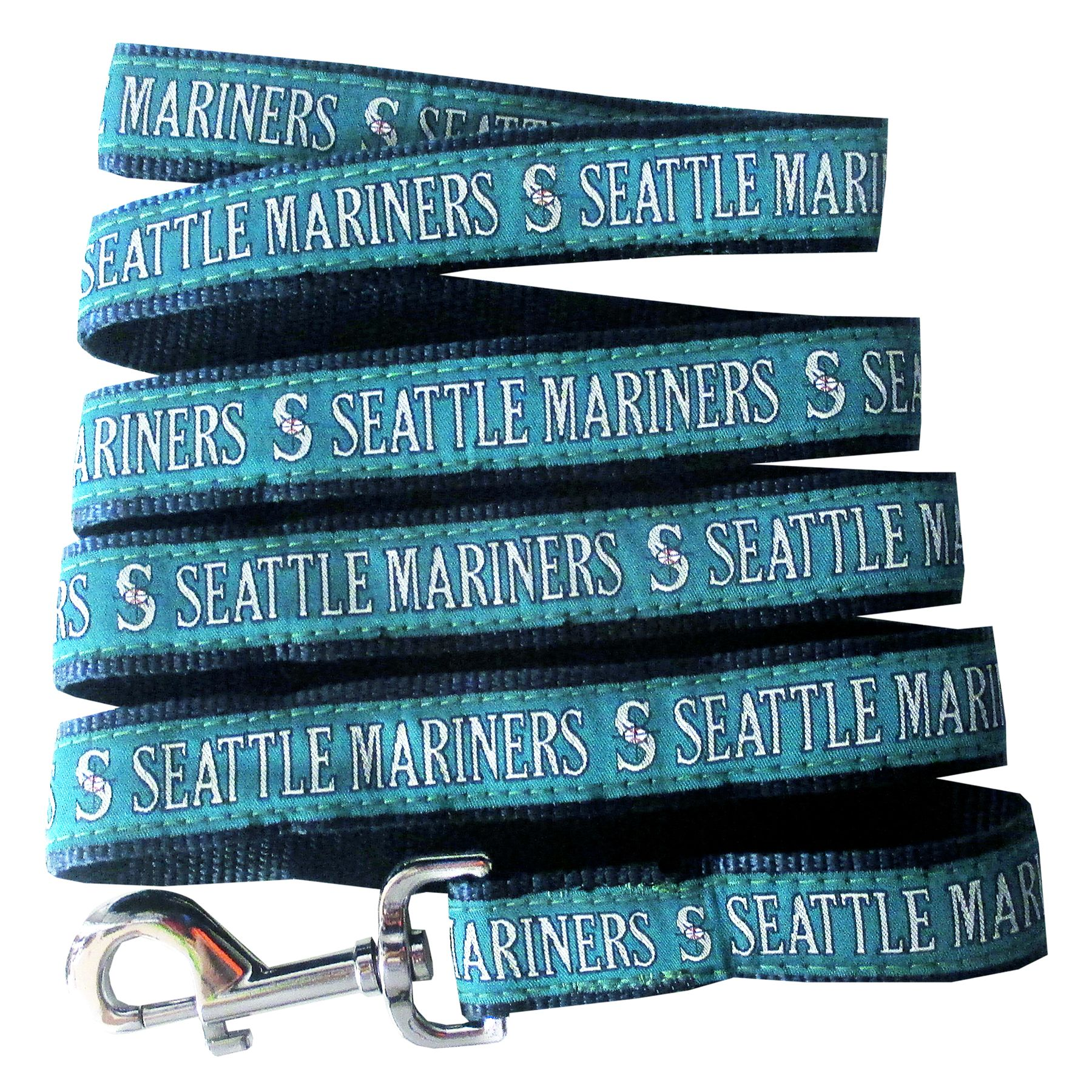 Seattle Mariners MLB Dog Leash size: Large, Pets First 5251661
