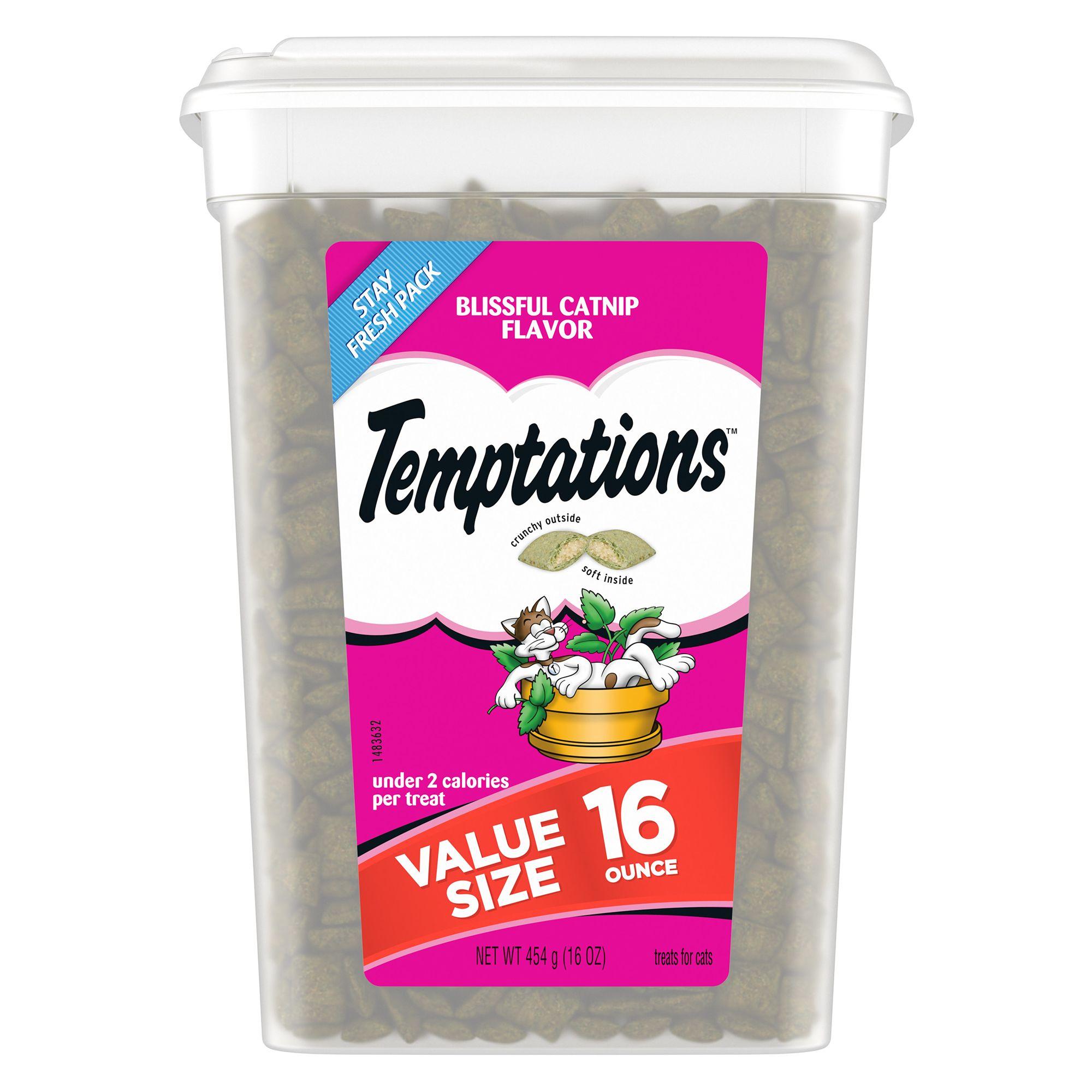 Temptations Cat Treat Blissful Catnip Size 16 Oz