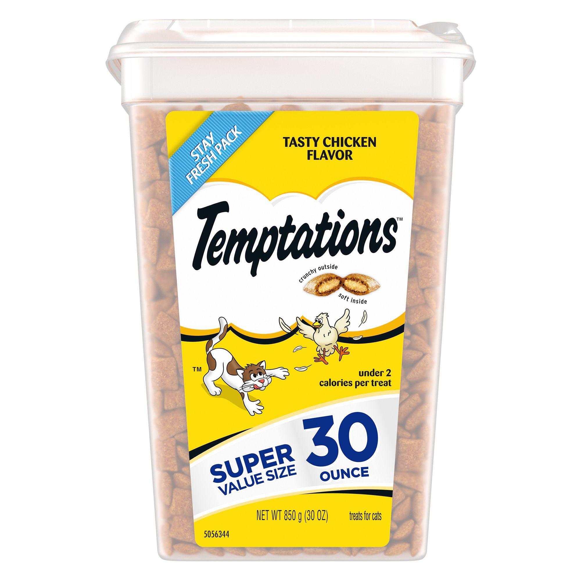 Temptations Cat Treat Tasty Chicken Size 30 Oz