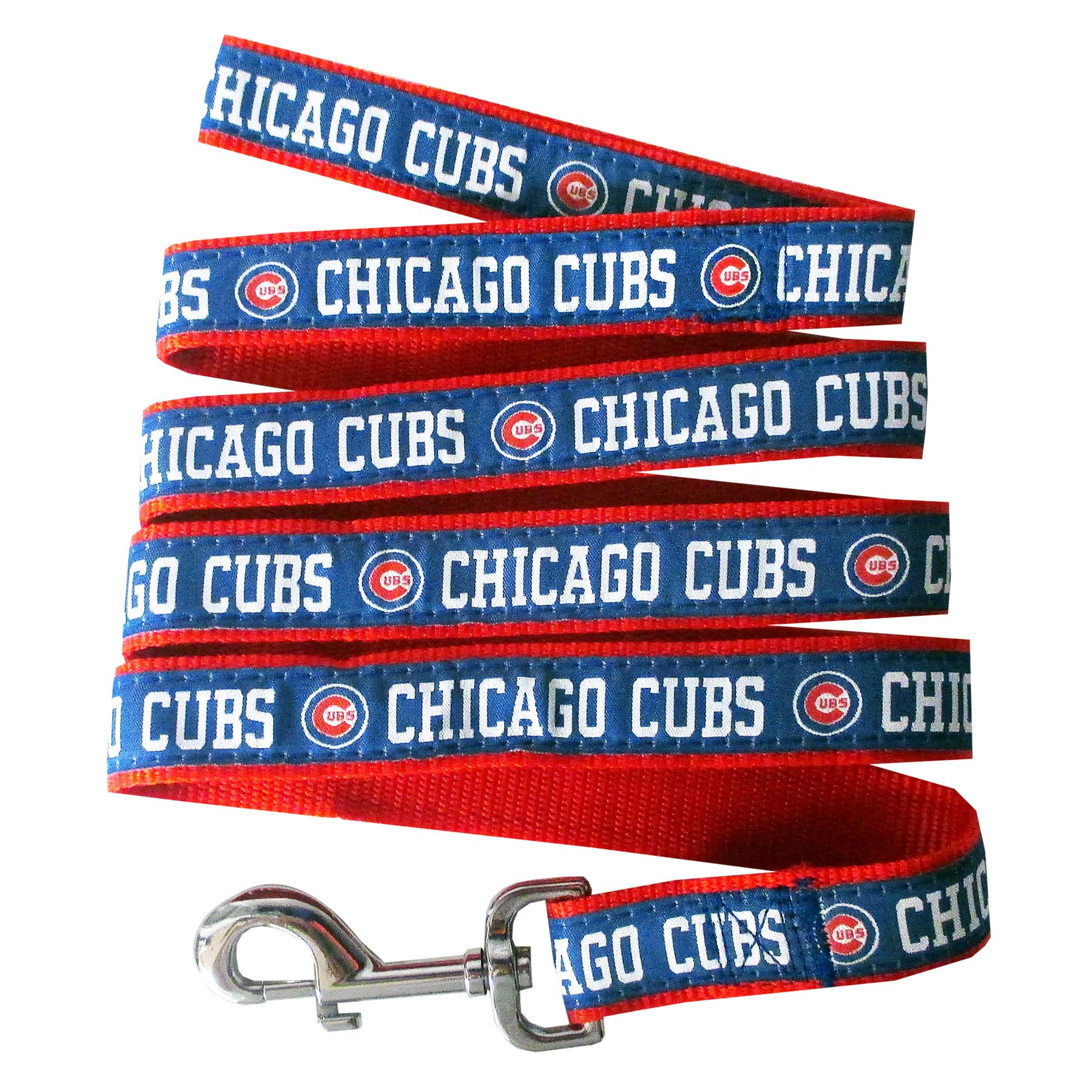 Chicago Cubs MLB Dog Leash size: Medium, Pets First 5251906