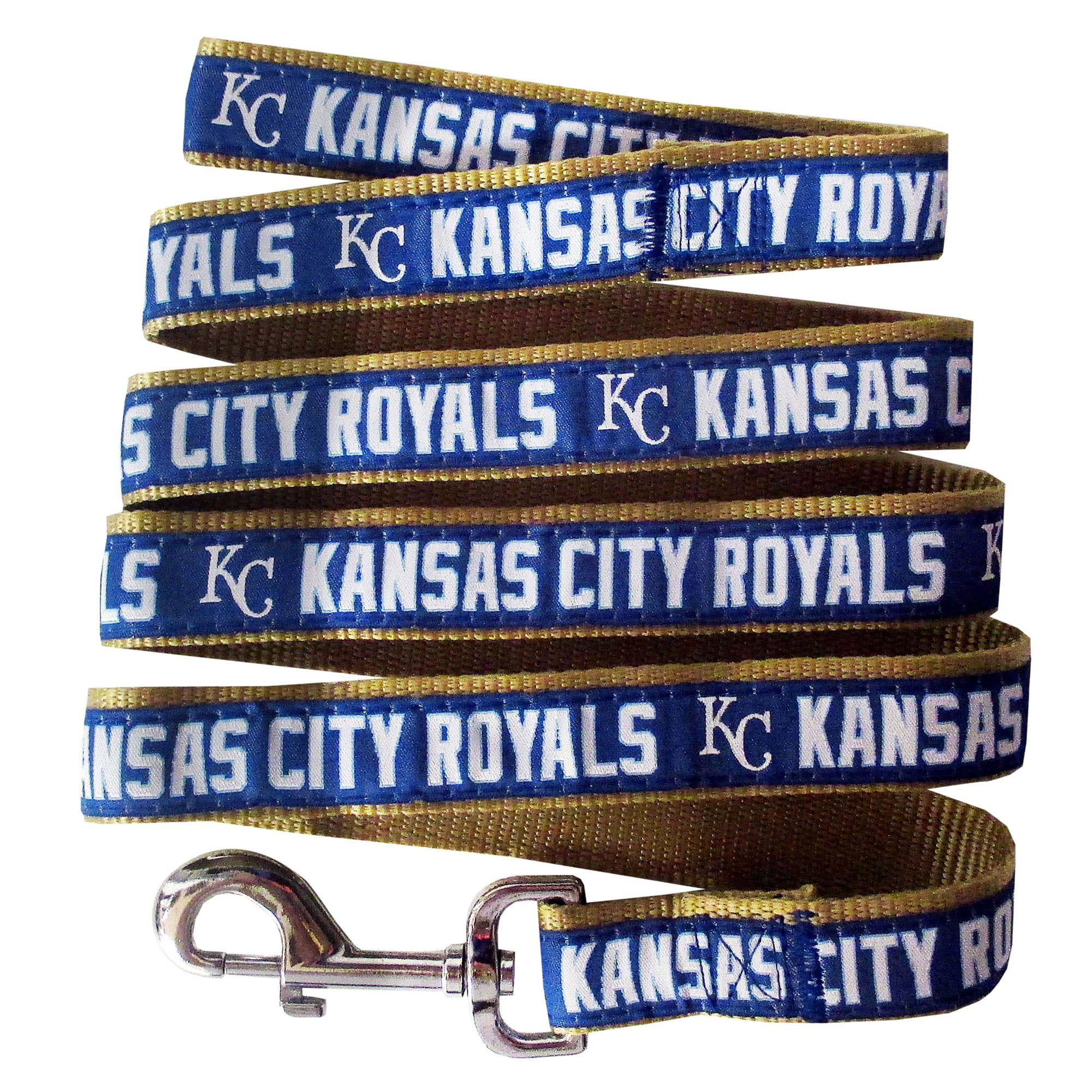 Kansas City Royals MLB Dog Leash size: Large, Pets First 5252336