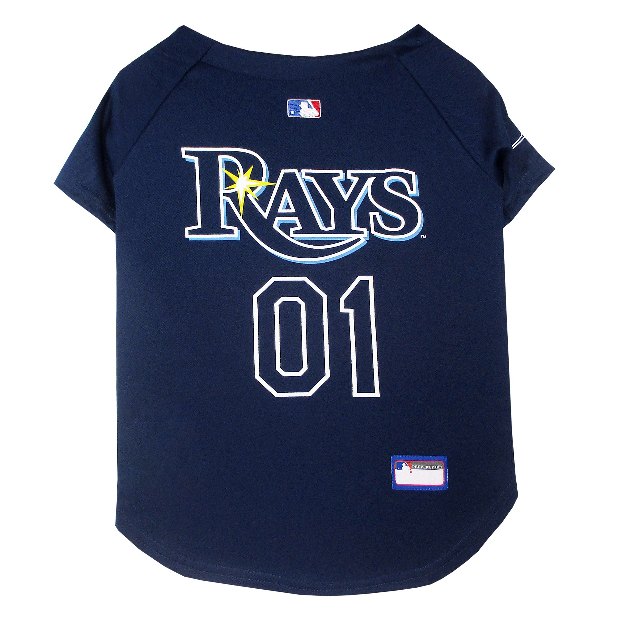 Tampa Bay Rays MLB Jersey size: X Small, Pets First 5252348