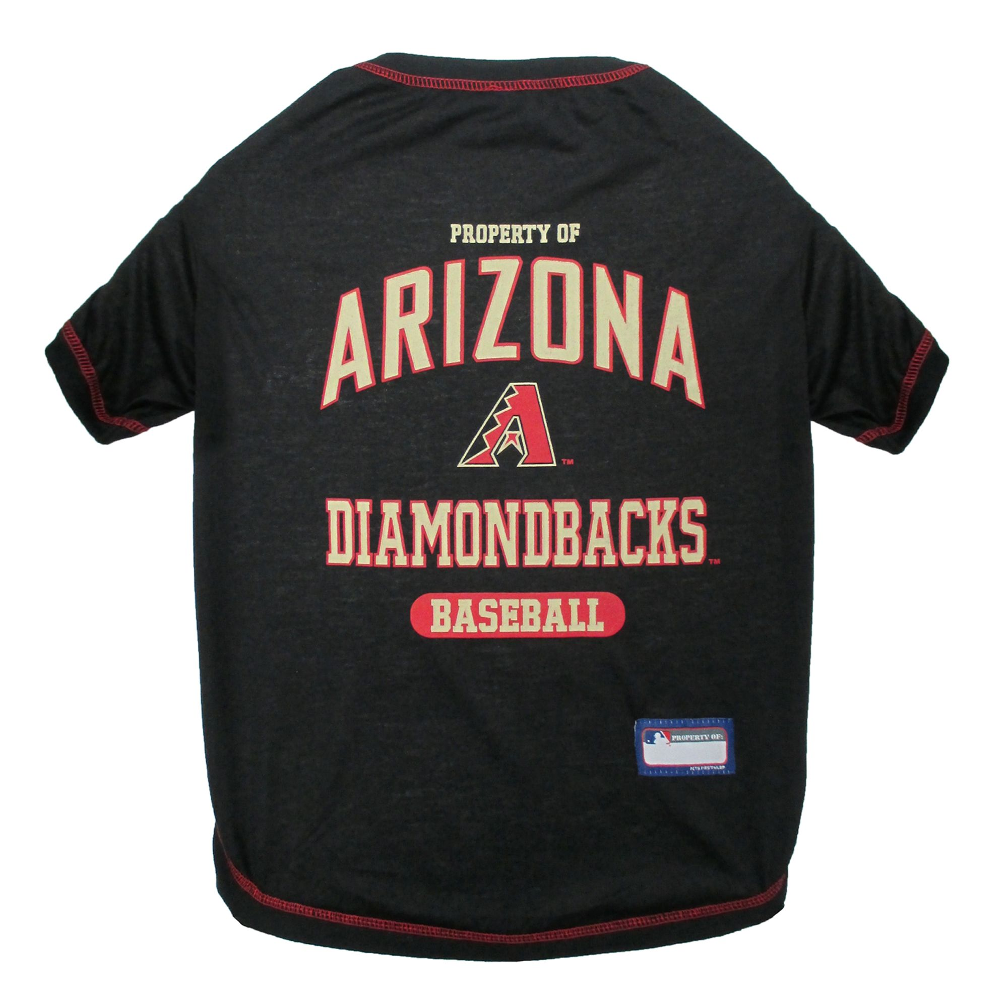 Arizona Diamondbacks Mlb Team Tee Size Large Pets First