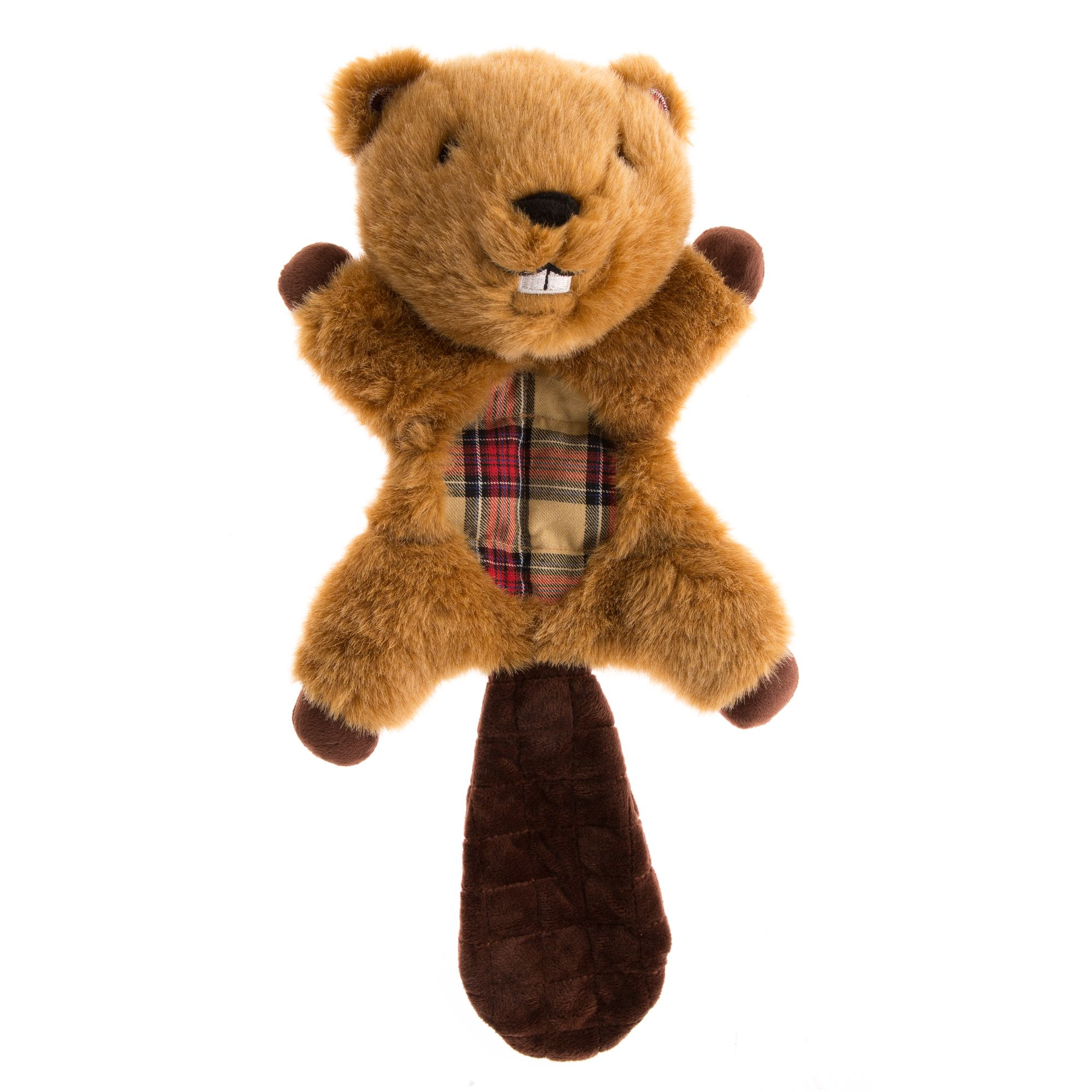 Top Paw® Plush Beaver Dog Toy size: Large 5252846