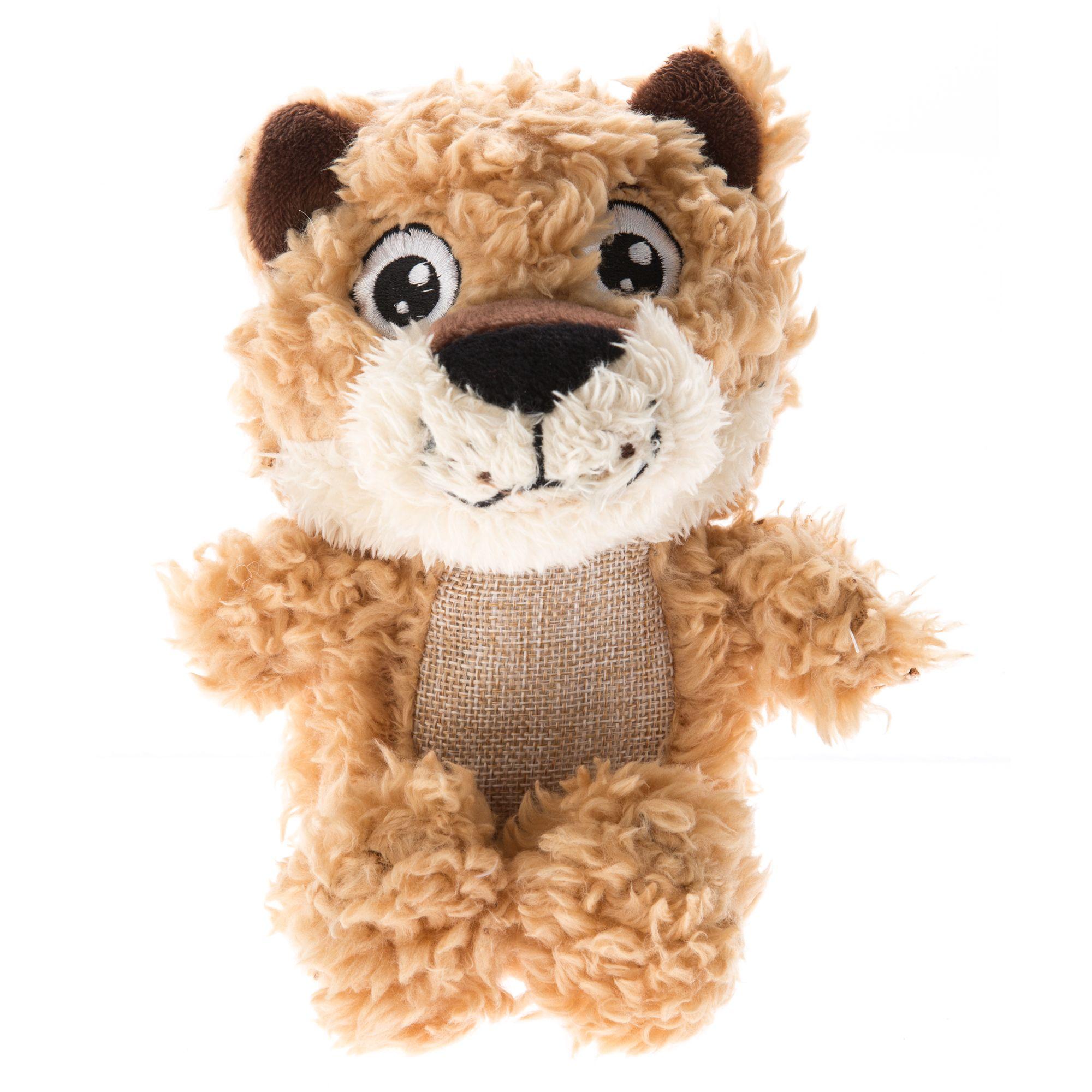 Top Paw® Plush Sherpa Mountain Lion Dog Toy 5253186