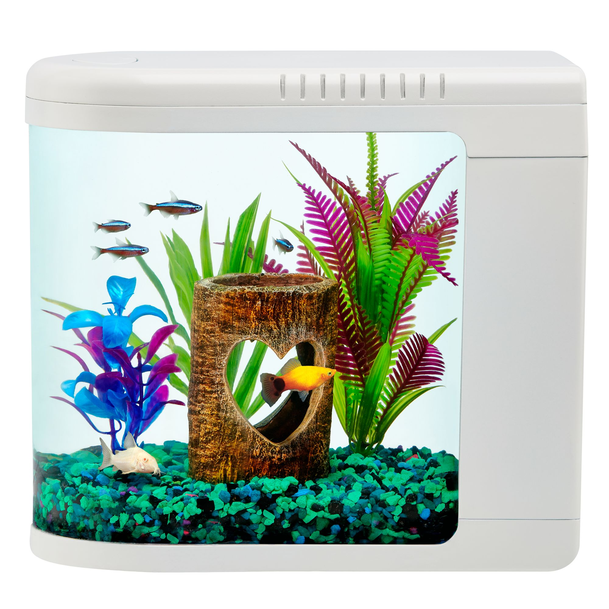 how to change filter cartridge in fish tank
